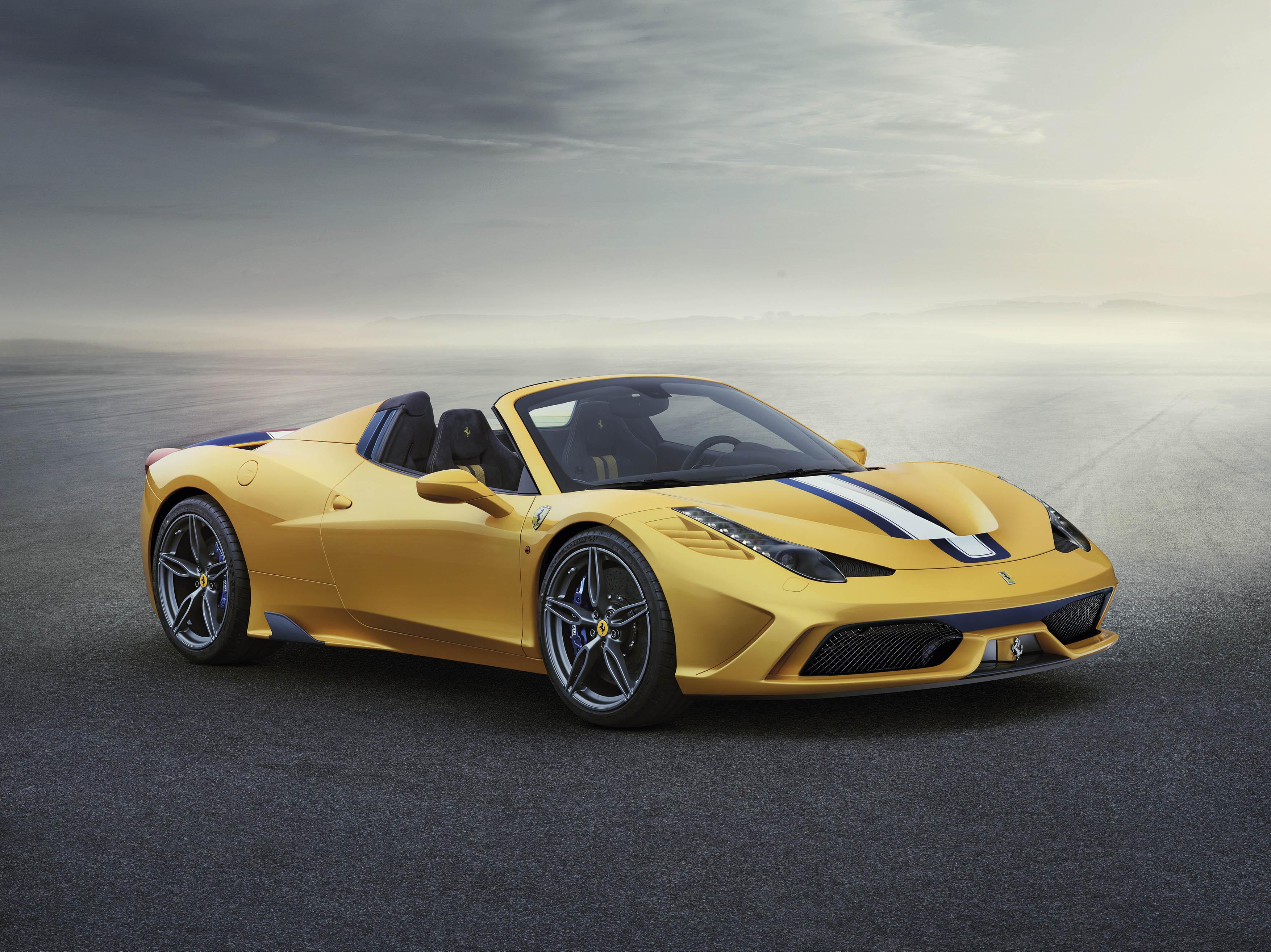 The 458 Aperta got a range of aerodynamic tweaks