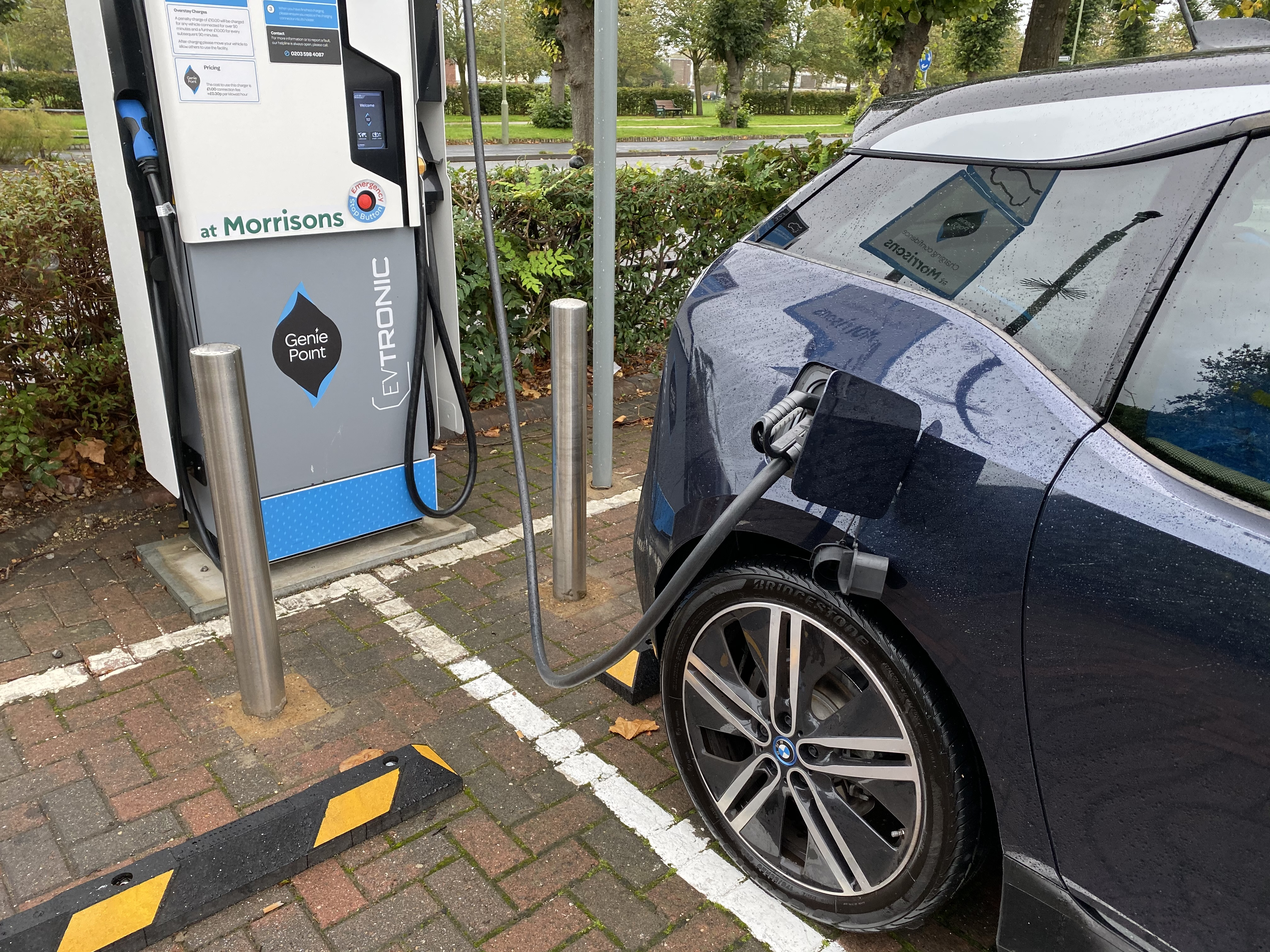 Increasing numbers of chargers mean plenty of opportunities to top up