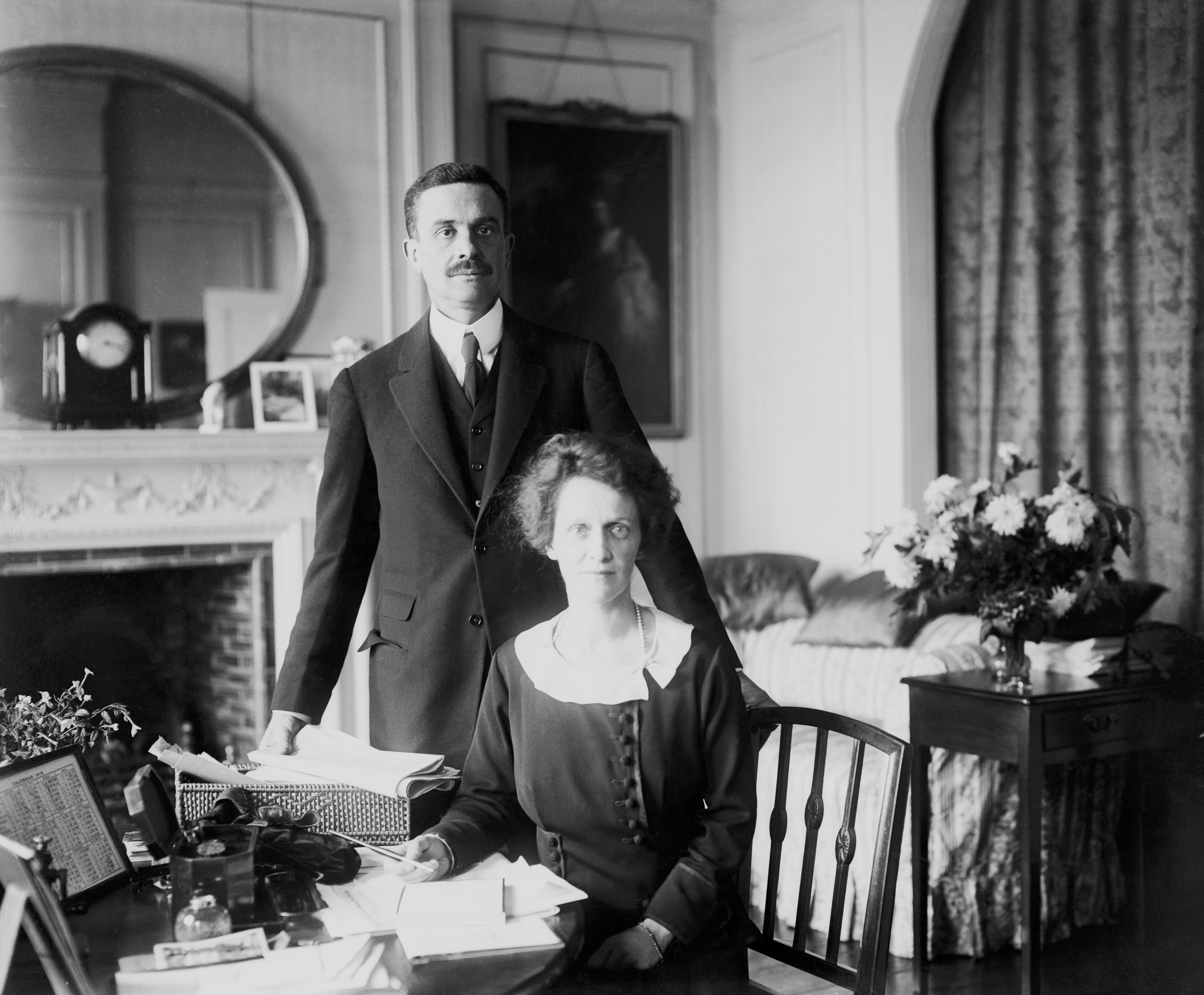 Nancy Astor with her husband Waldorf