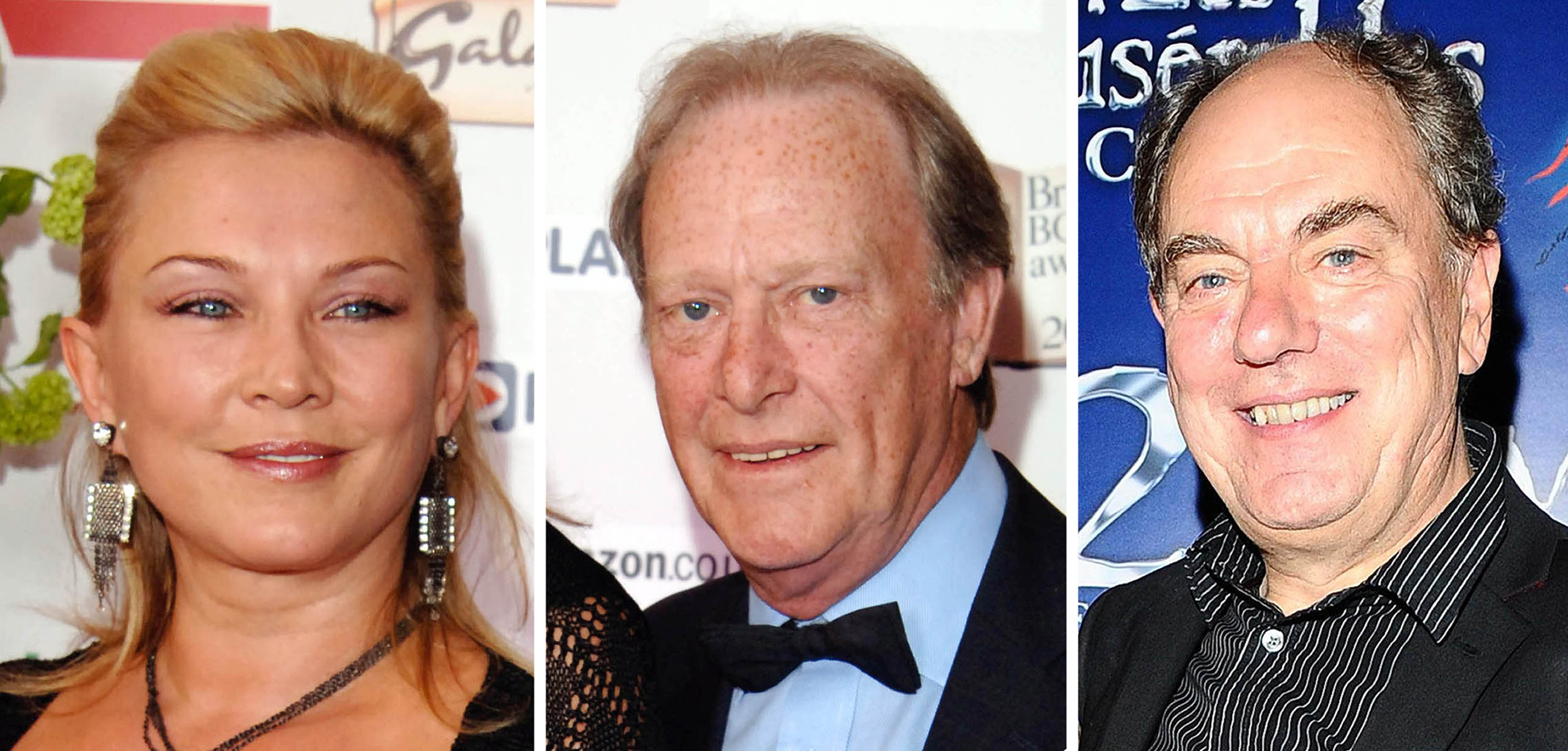 Embargoed to 0001 Tuesday August 21 (left to right) Amanda Redman Dennis Waterman and Alun Armstrong who starred in TV drama, New Tricks (PA)