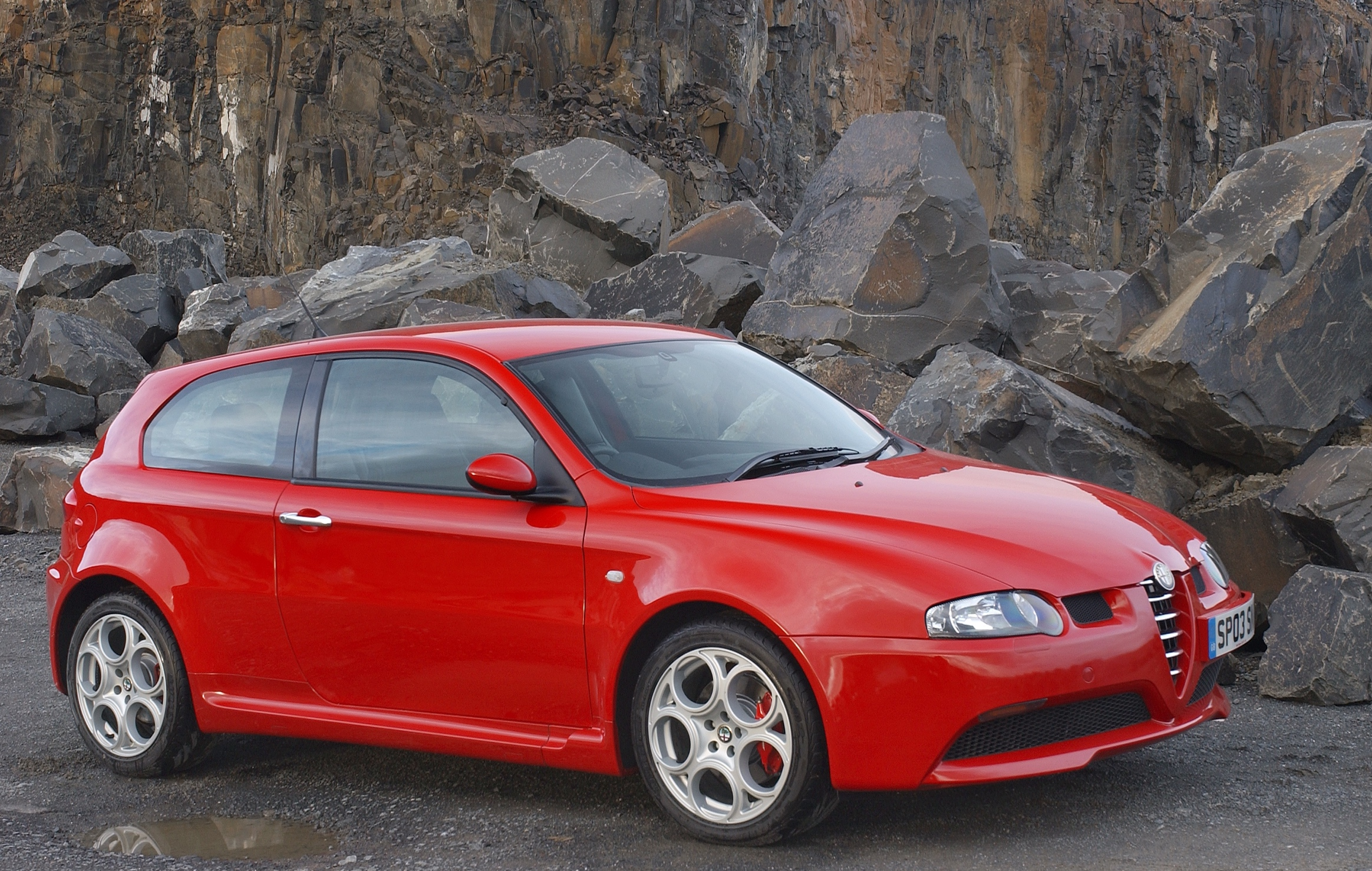 Alfa's 147 GTA packed a whopping V6 engine