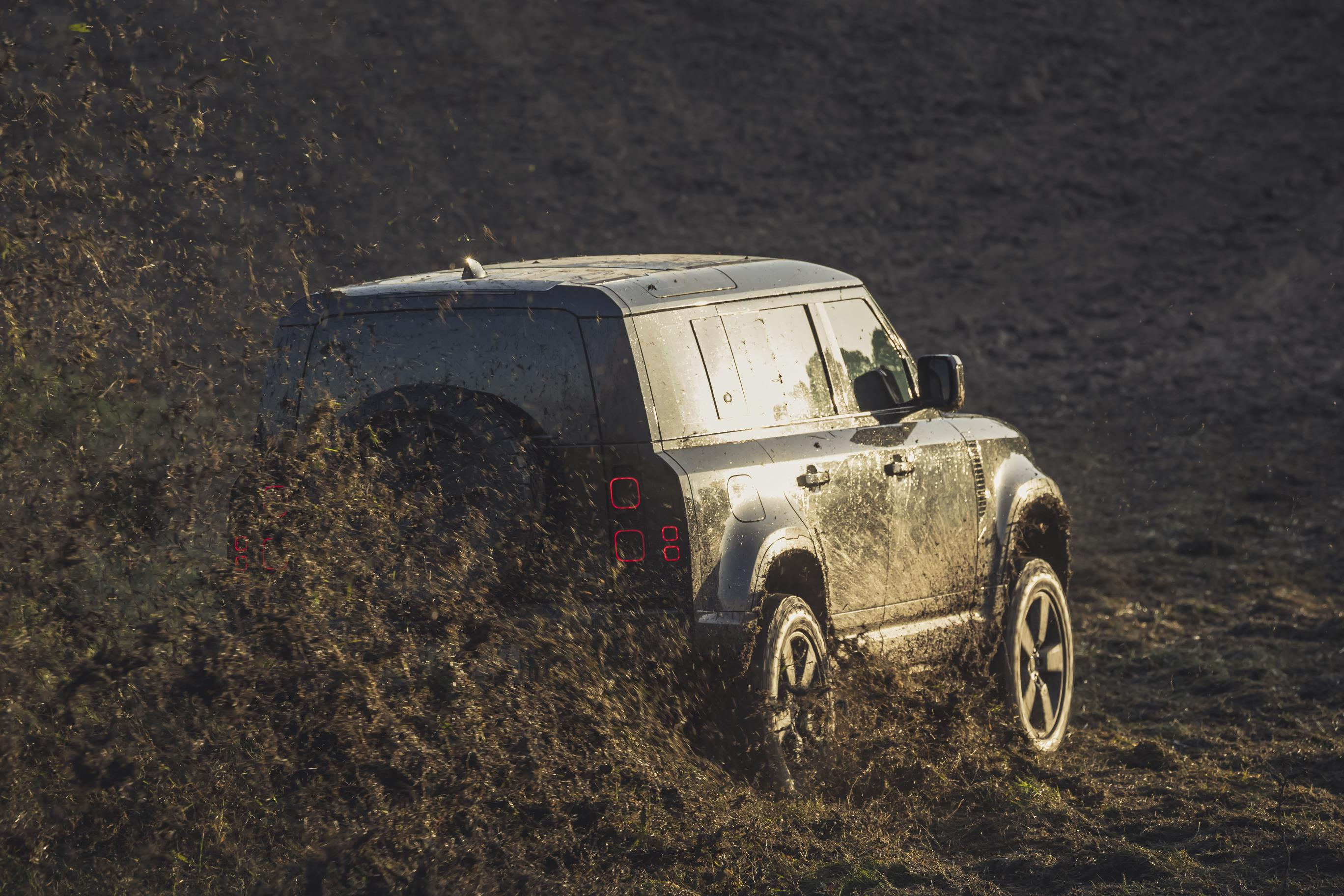 The Defender is due to arrive in dealerships next year