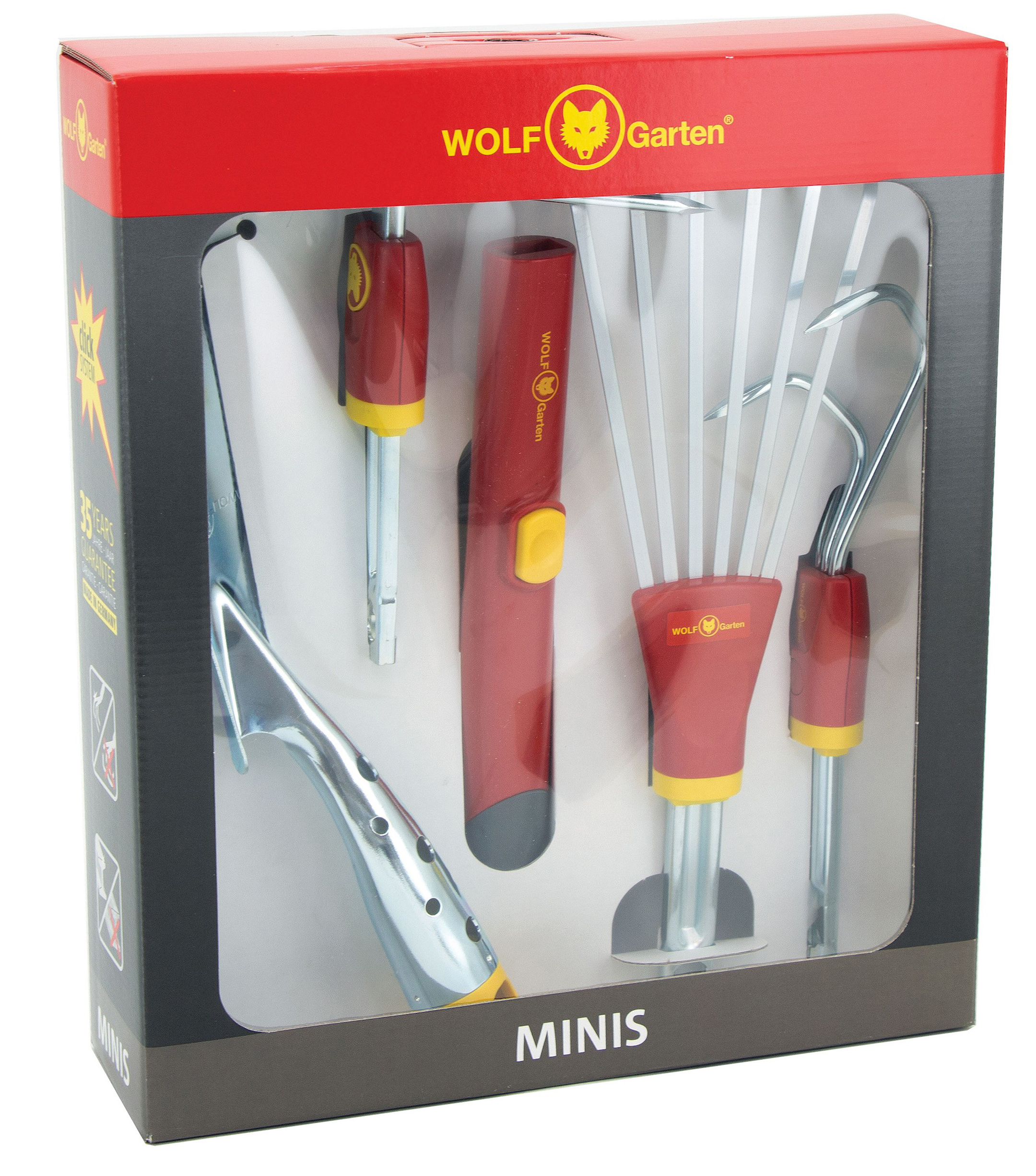 This mini tool kit is ideal for those with smaller gardens (Wolf-Garten/PA)