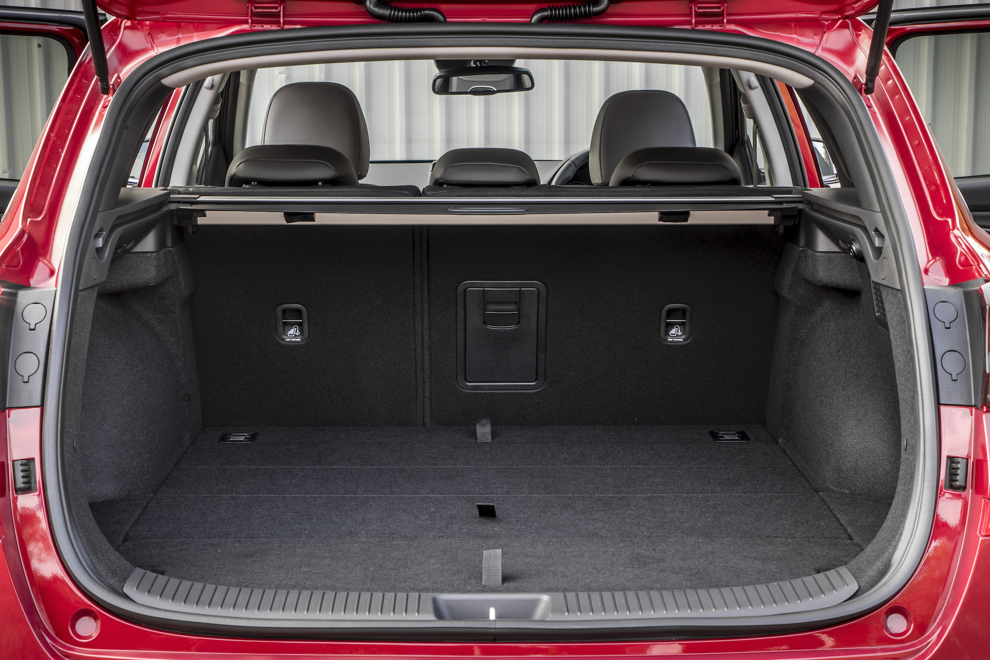The i30 Tourer offers a decent sized boot