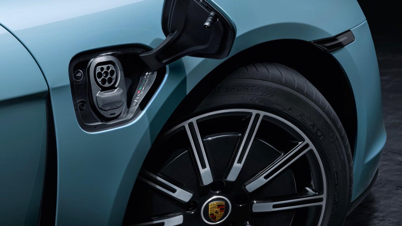The Taycan 4S is Porsche's new entry point into the range
