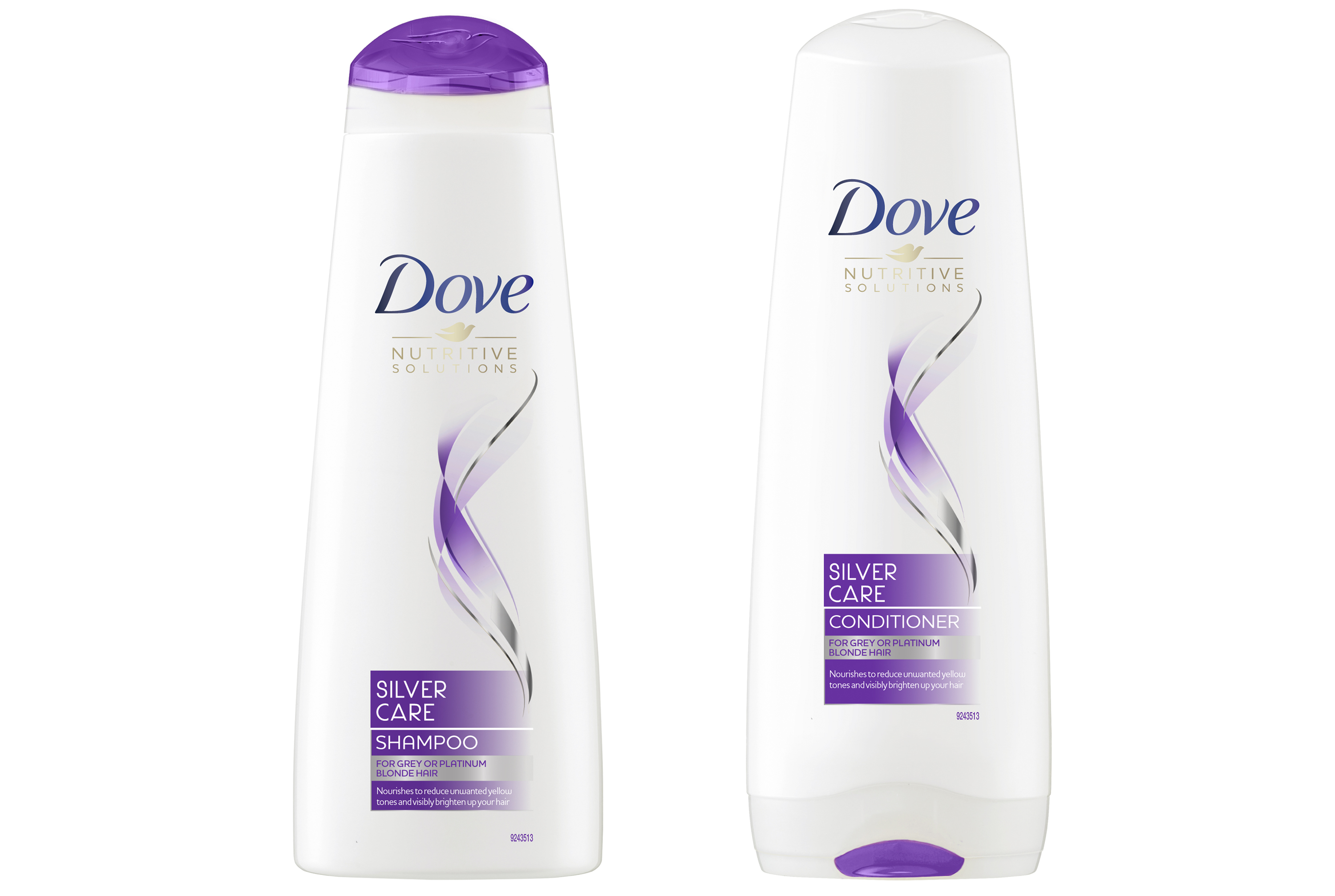 Dove Silver Care Shampoo and Conditioner