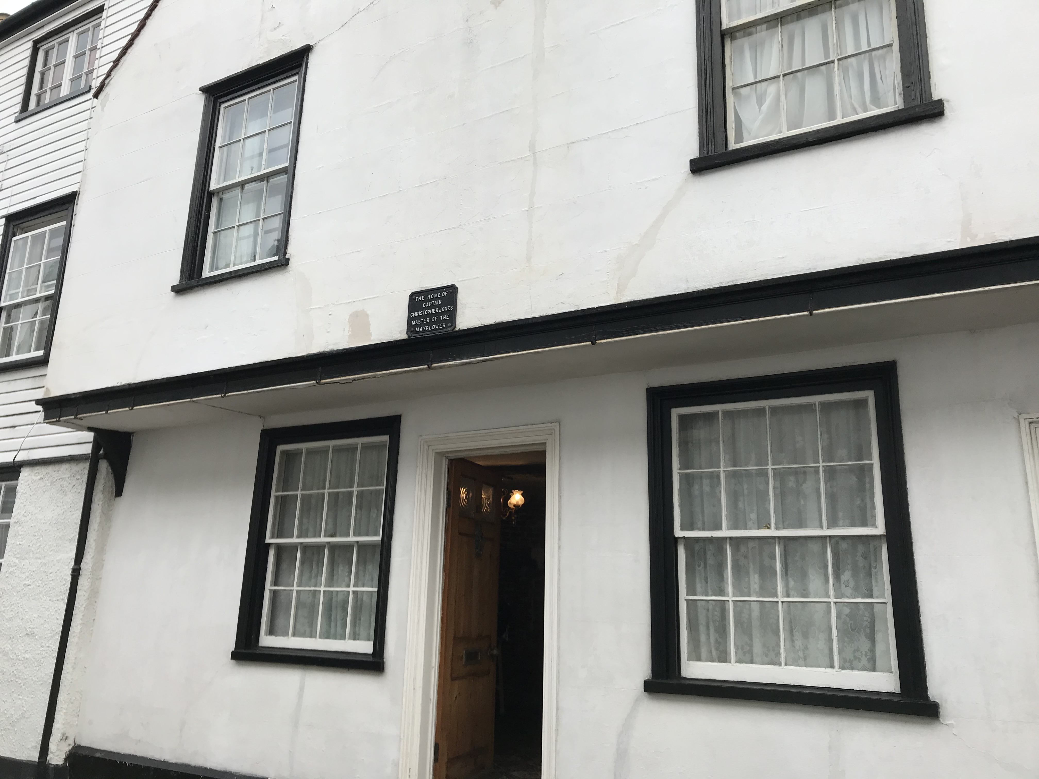 The house where Christopher Jones, captain of the Mayflower, once lived in King's Head Street in Harwich