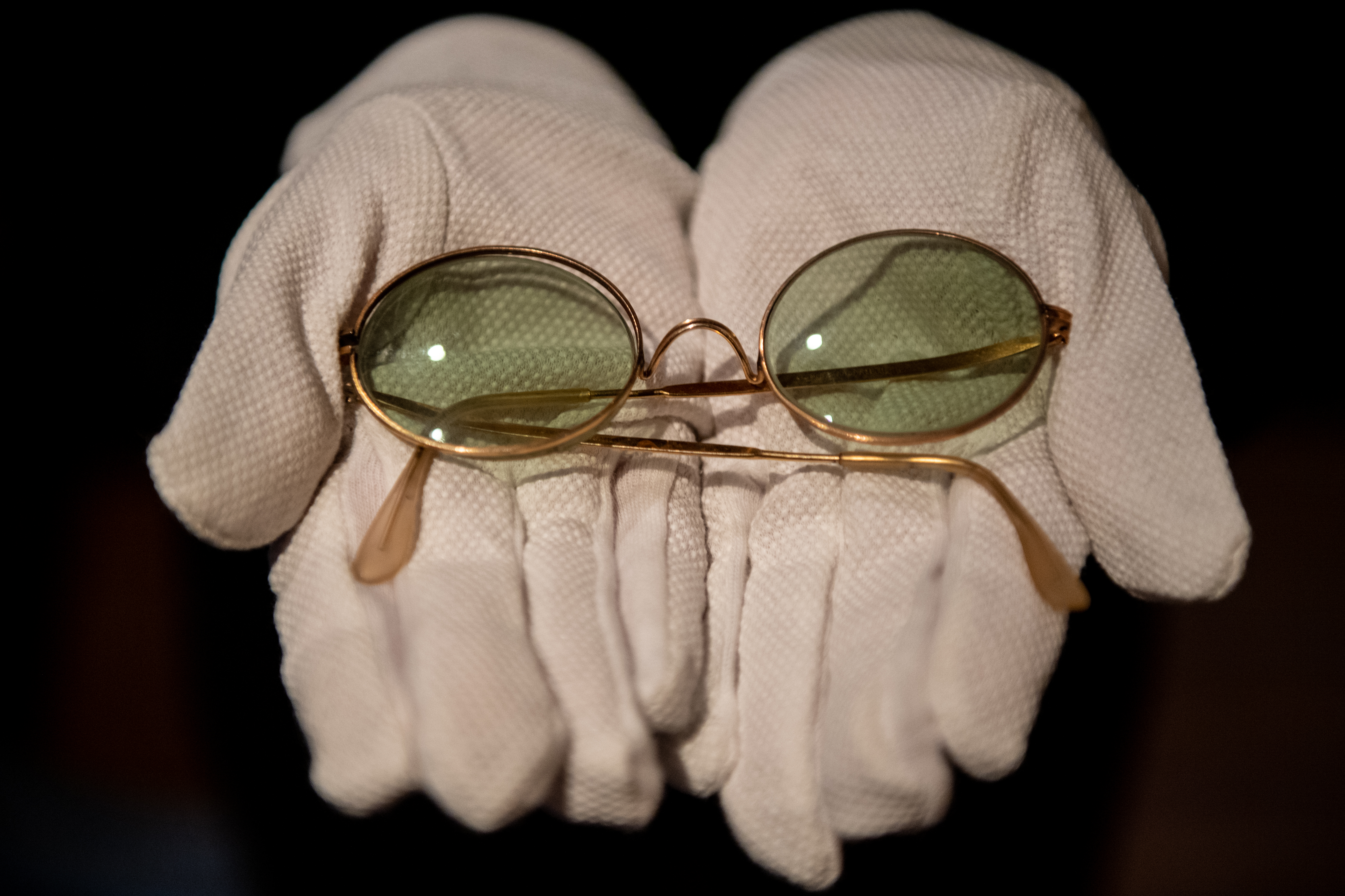 John Lennon's round sunglasses are up for auction