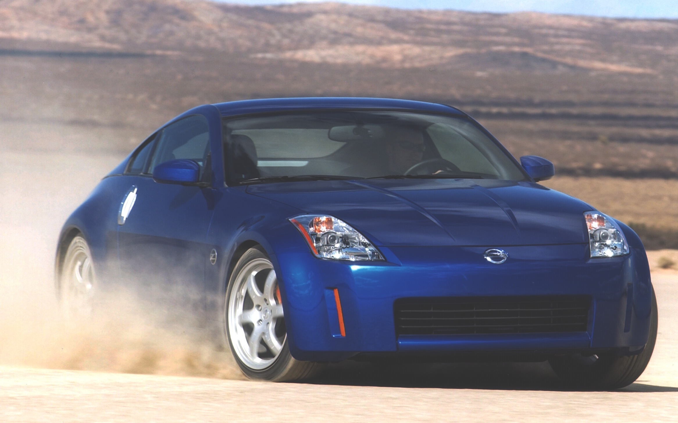 The 350Z marked a comeback of the 'Z' nameplate