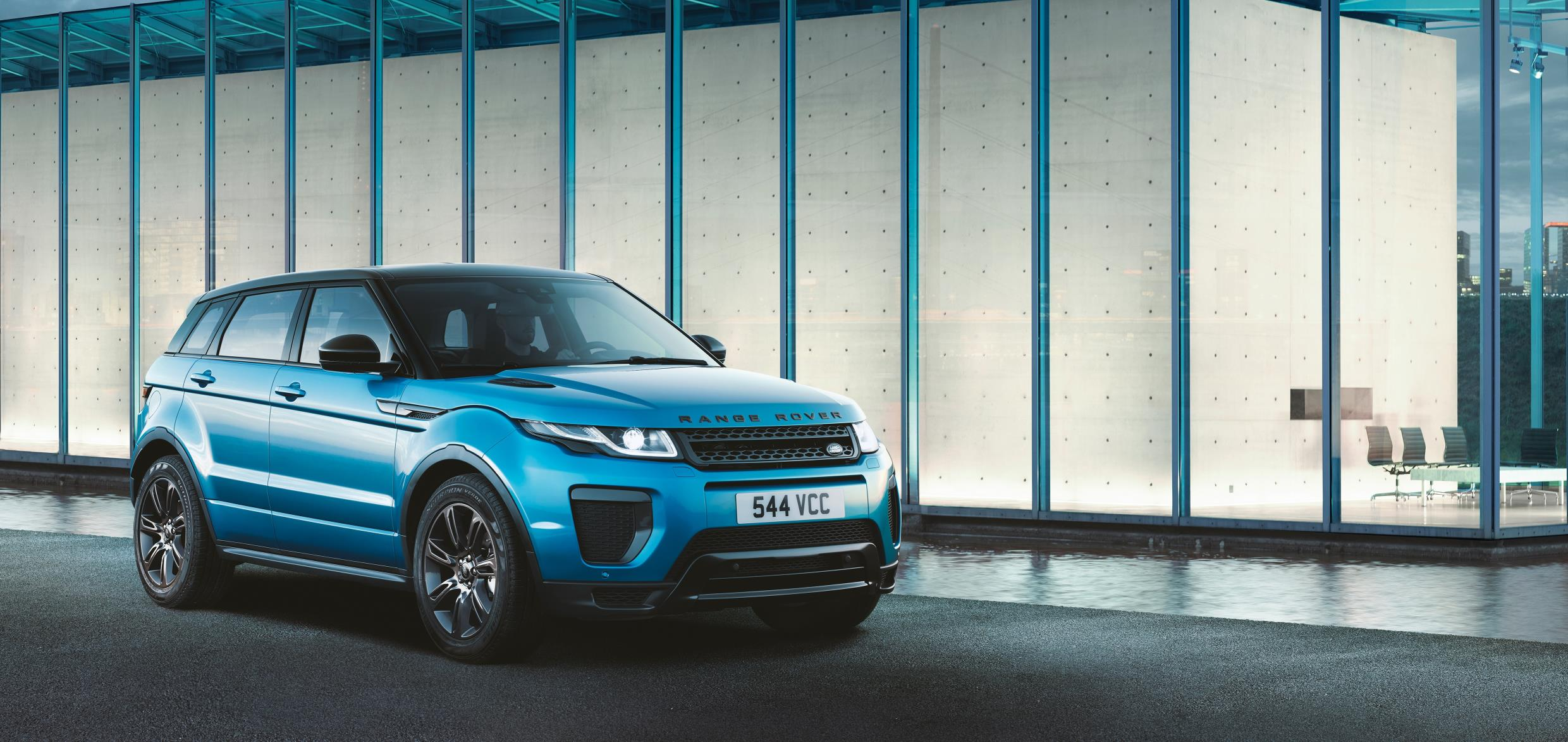 The Evoque is a stylish crossover option