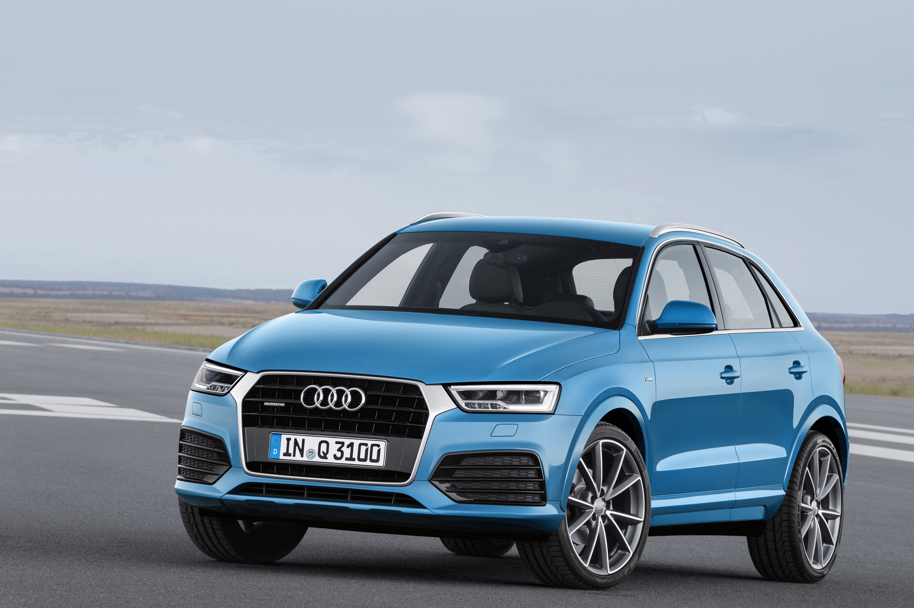 The Q3 is a premium take on the crossover