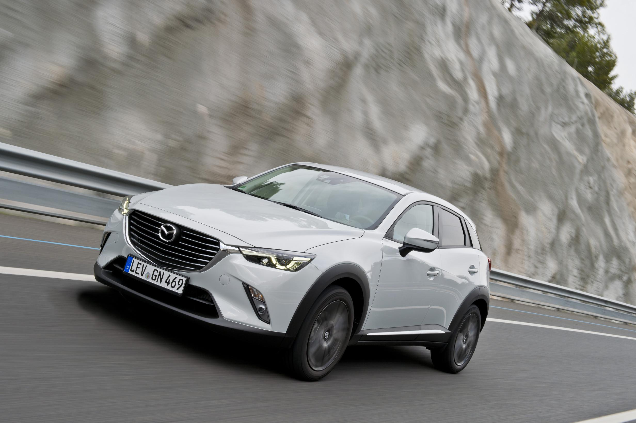 Mazda's CX-3 is compact but still very practical