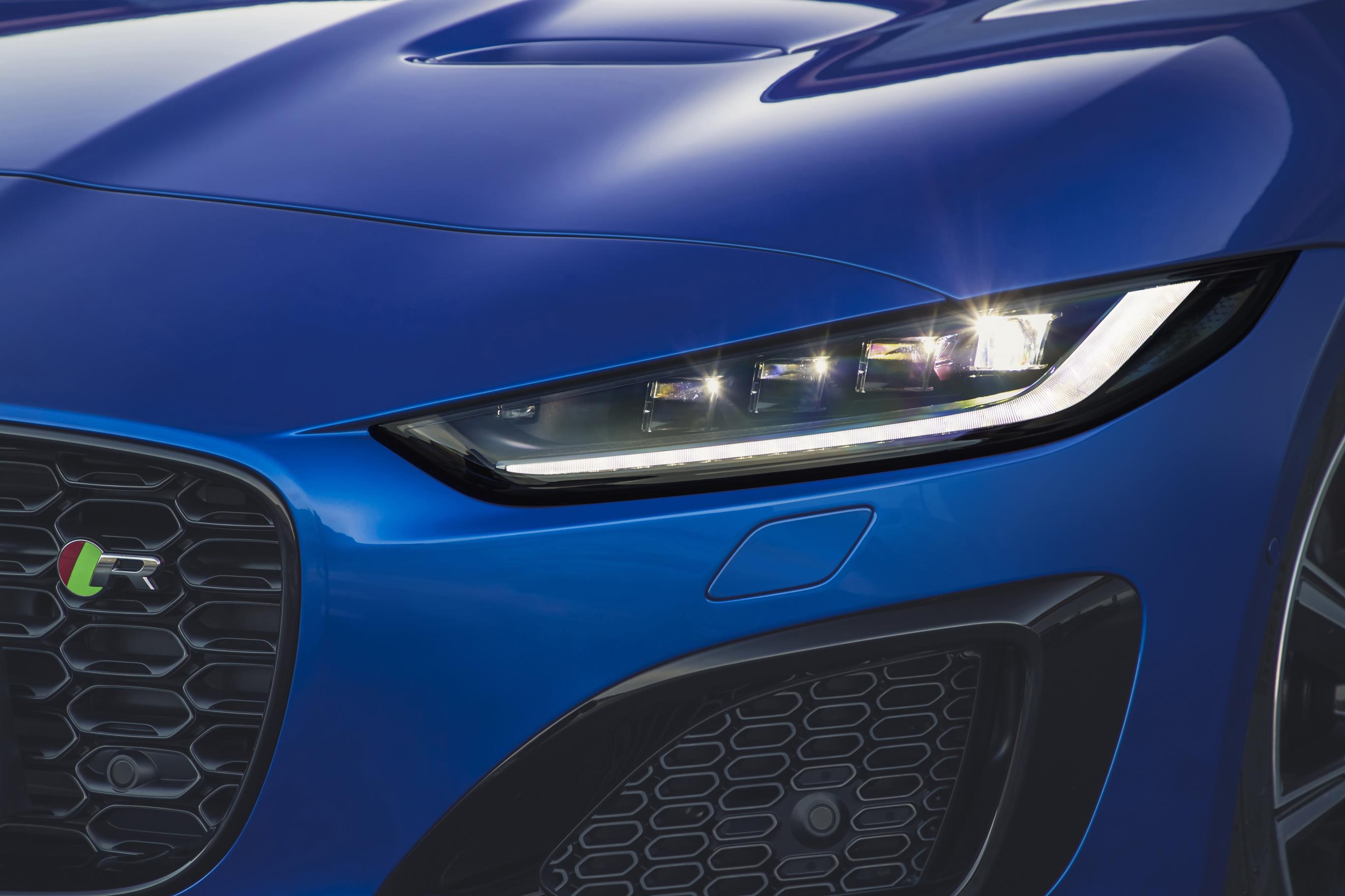 The headlights have been heavily revised