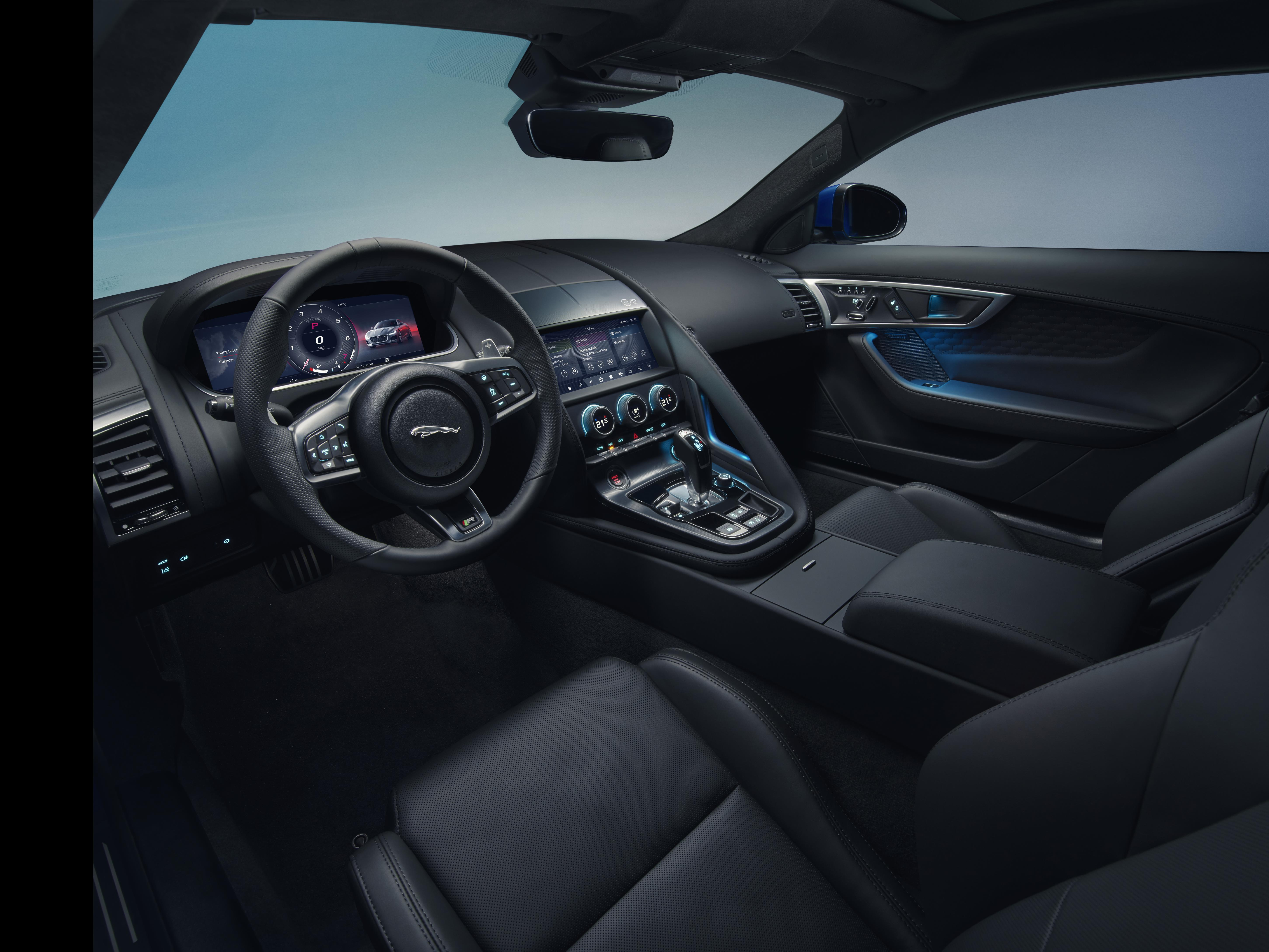 A huge new driver display features in the cabin