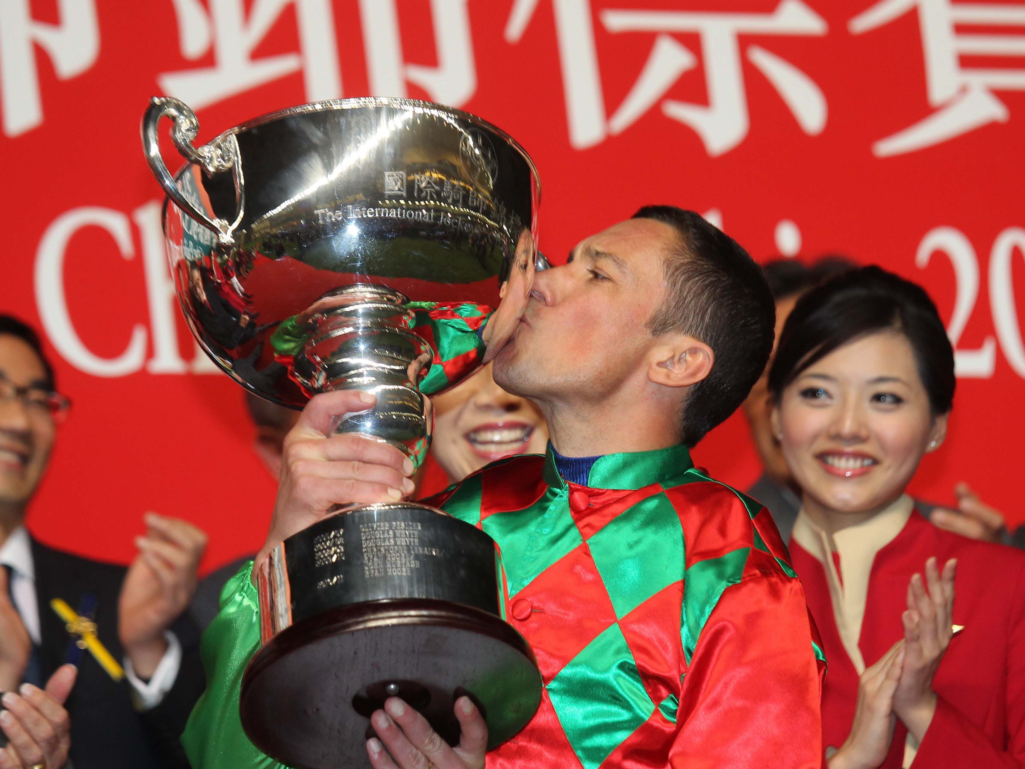 Frankie Dettori is aiming to win the International Jockeys' Championship for the fourth time (HKJC)