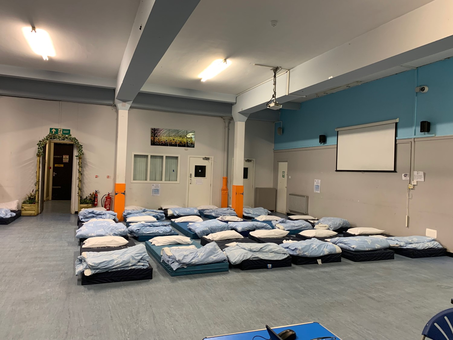 Glasgow Winter Night shelter