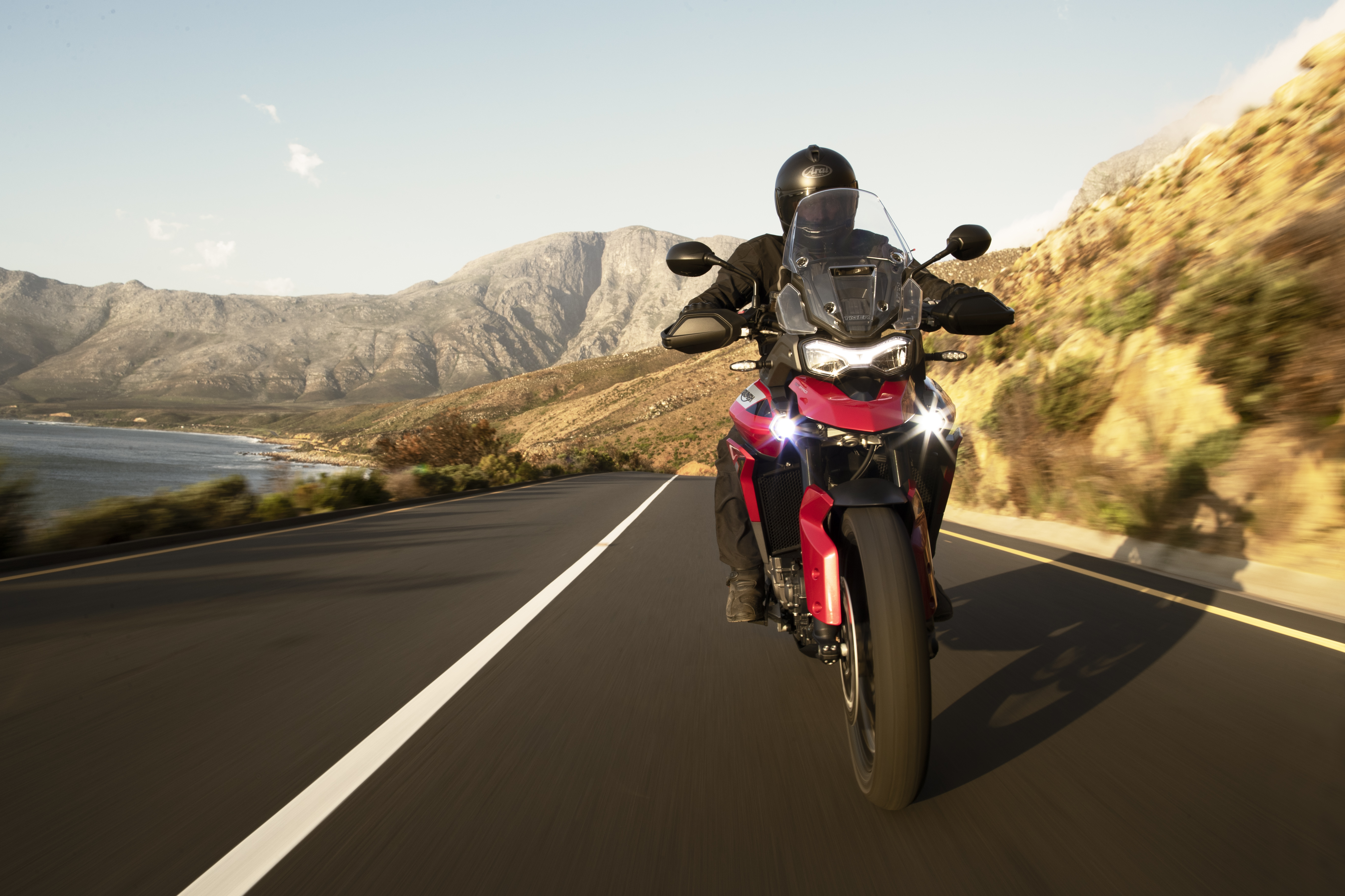 The Triumph boasts more torque than before