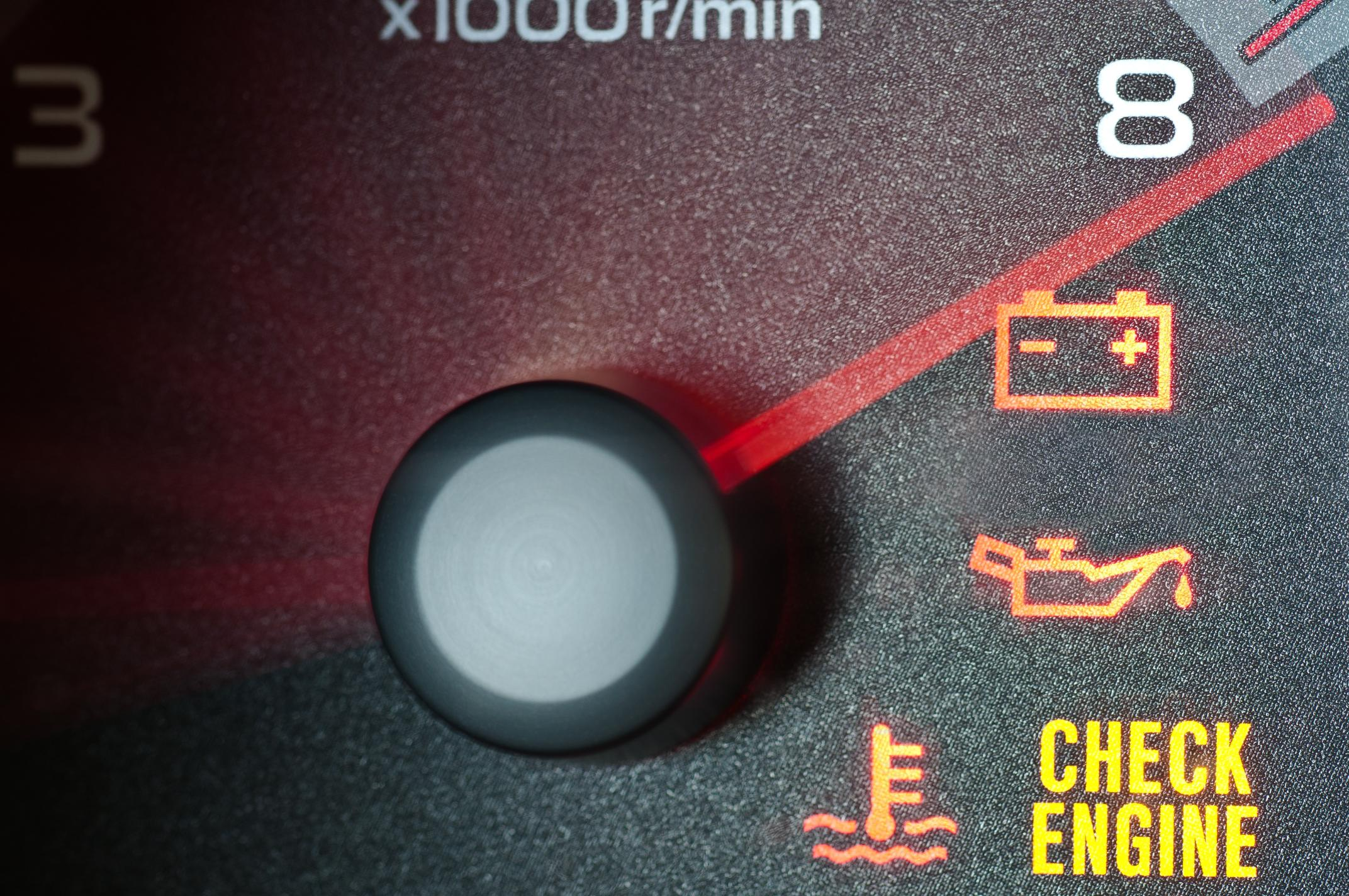 Engine fluids can thicken when the temperature drops