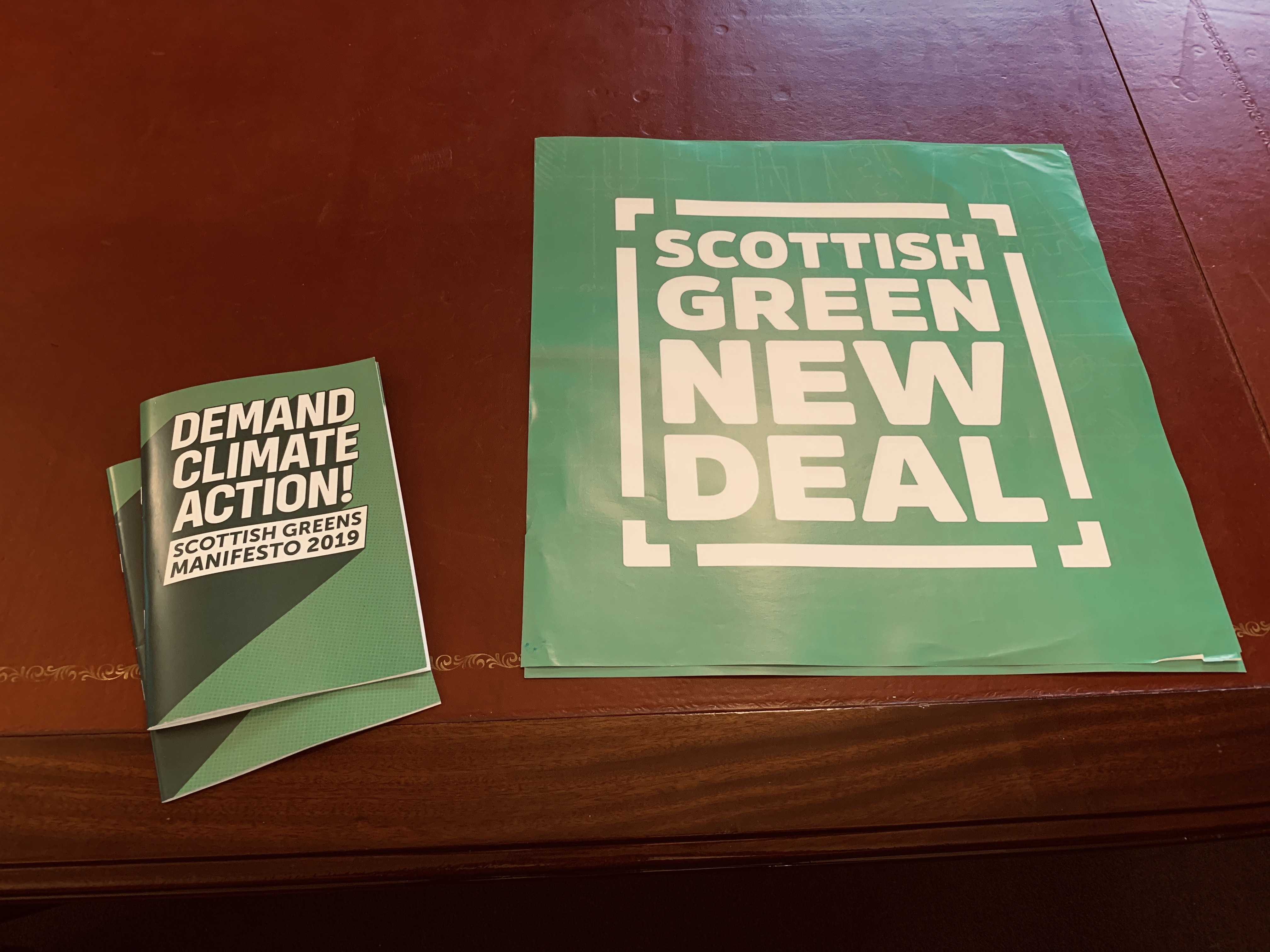 Scottish Green manifesto