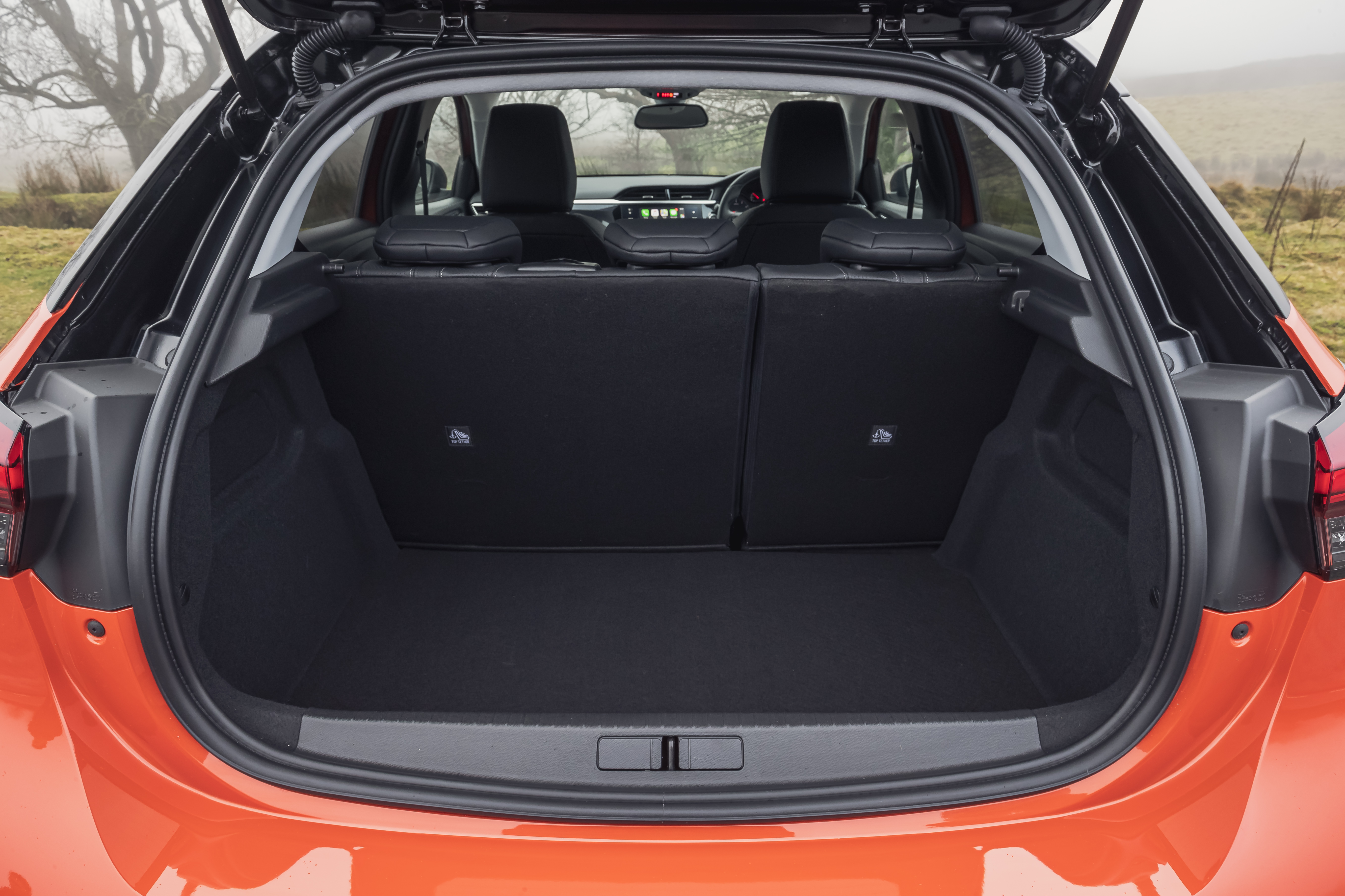 There's plenty of boot space available with the Corsa