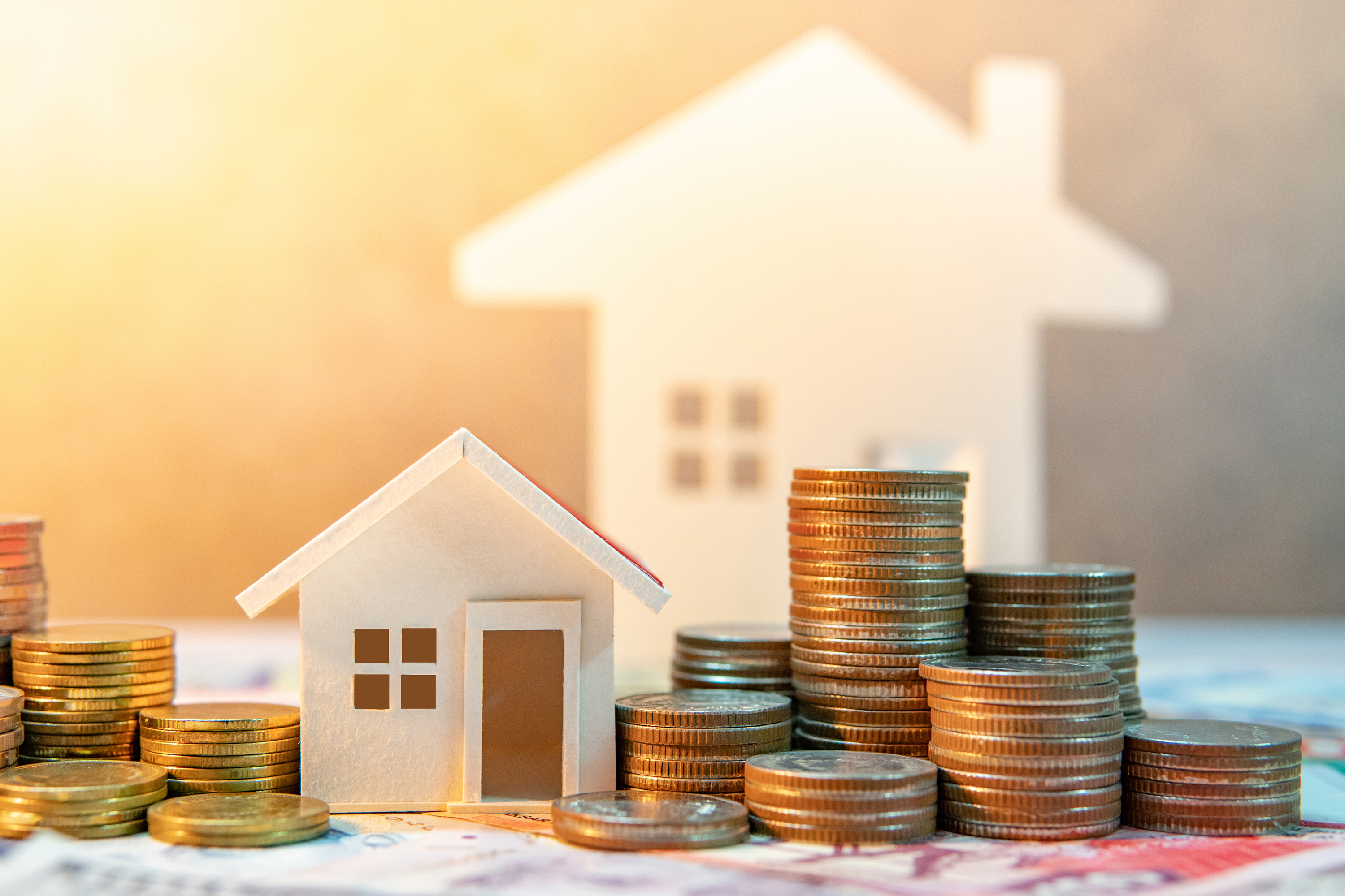 A Generic Photo of CUTOUT HOUSE AND MONEY (iStock/PA)
