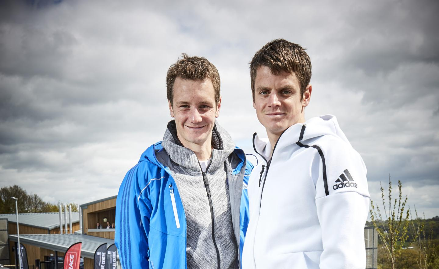 Co-authors of the research Alistair and Jonny Brownlee