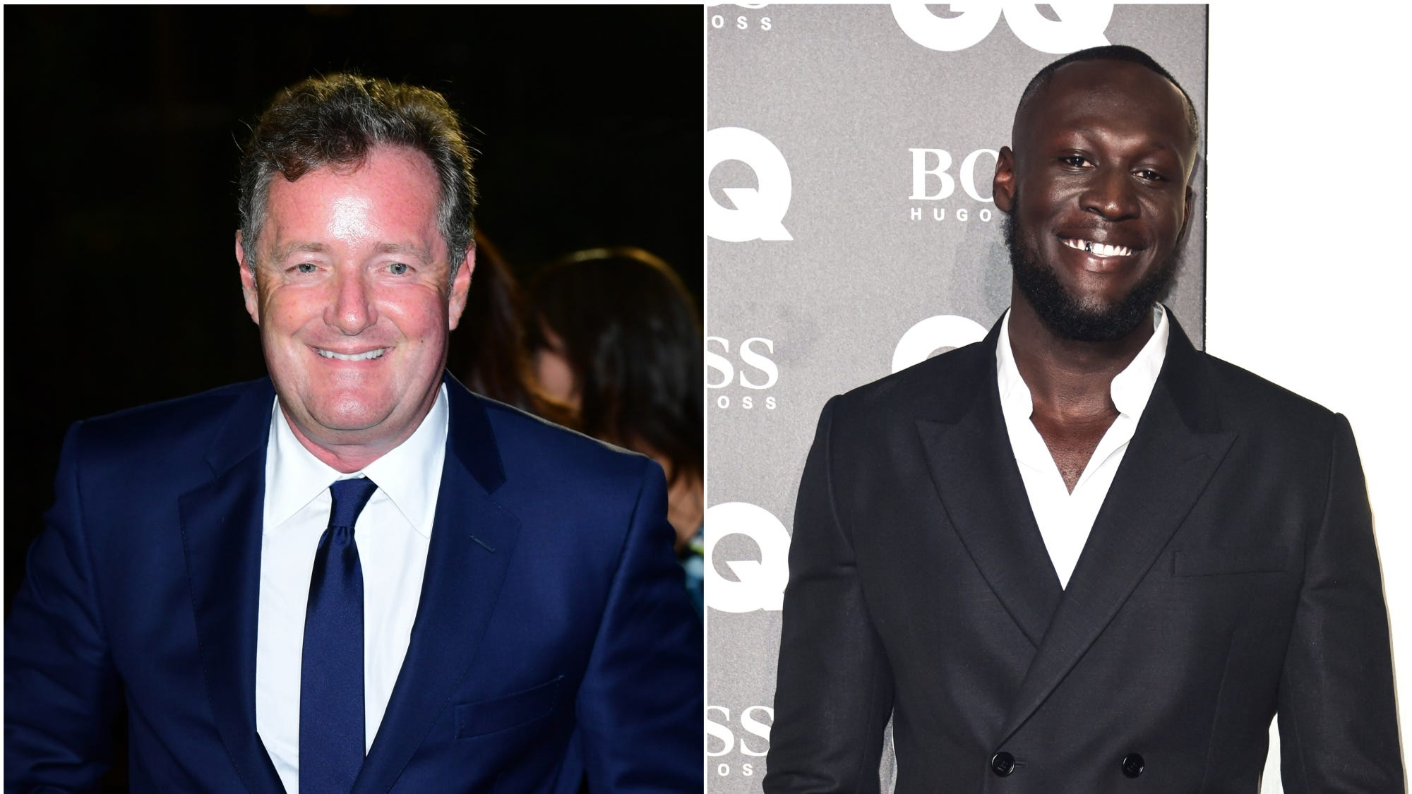 Piers Morgan and Stormzy