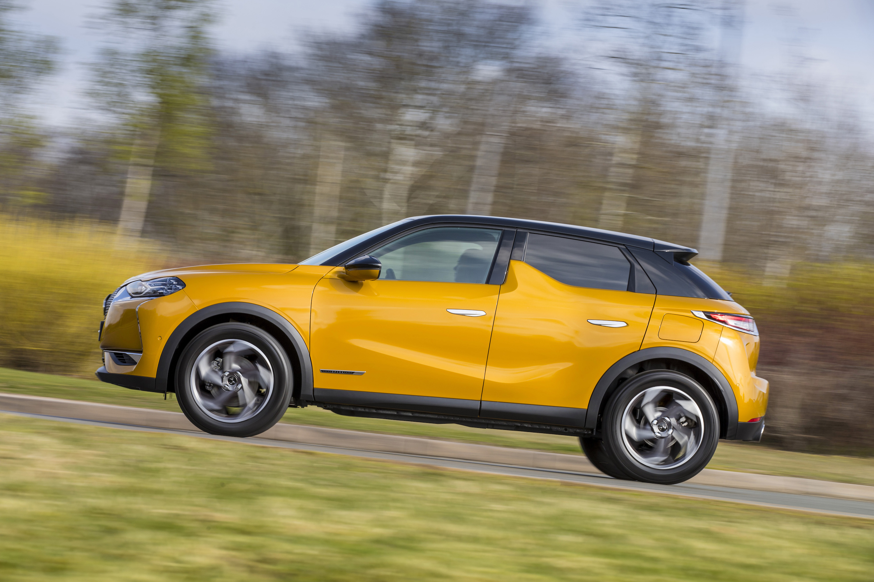 The DS 3 Crossback is the firm's second SUV-style vehicle