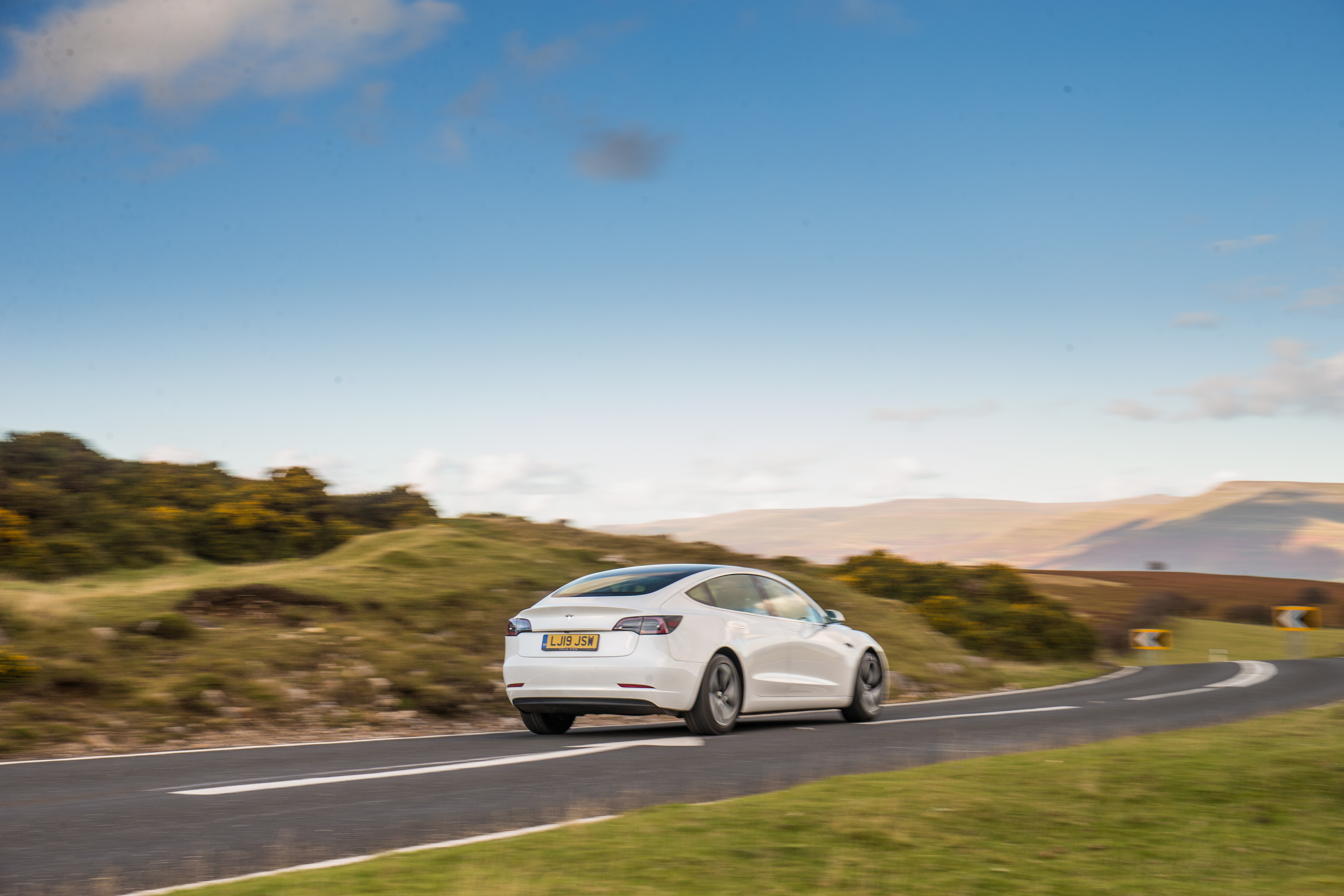 The Model 3 is proving popular in the UK