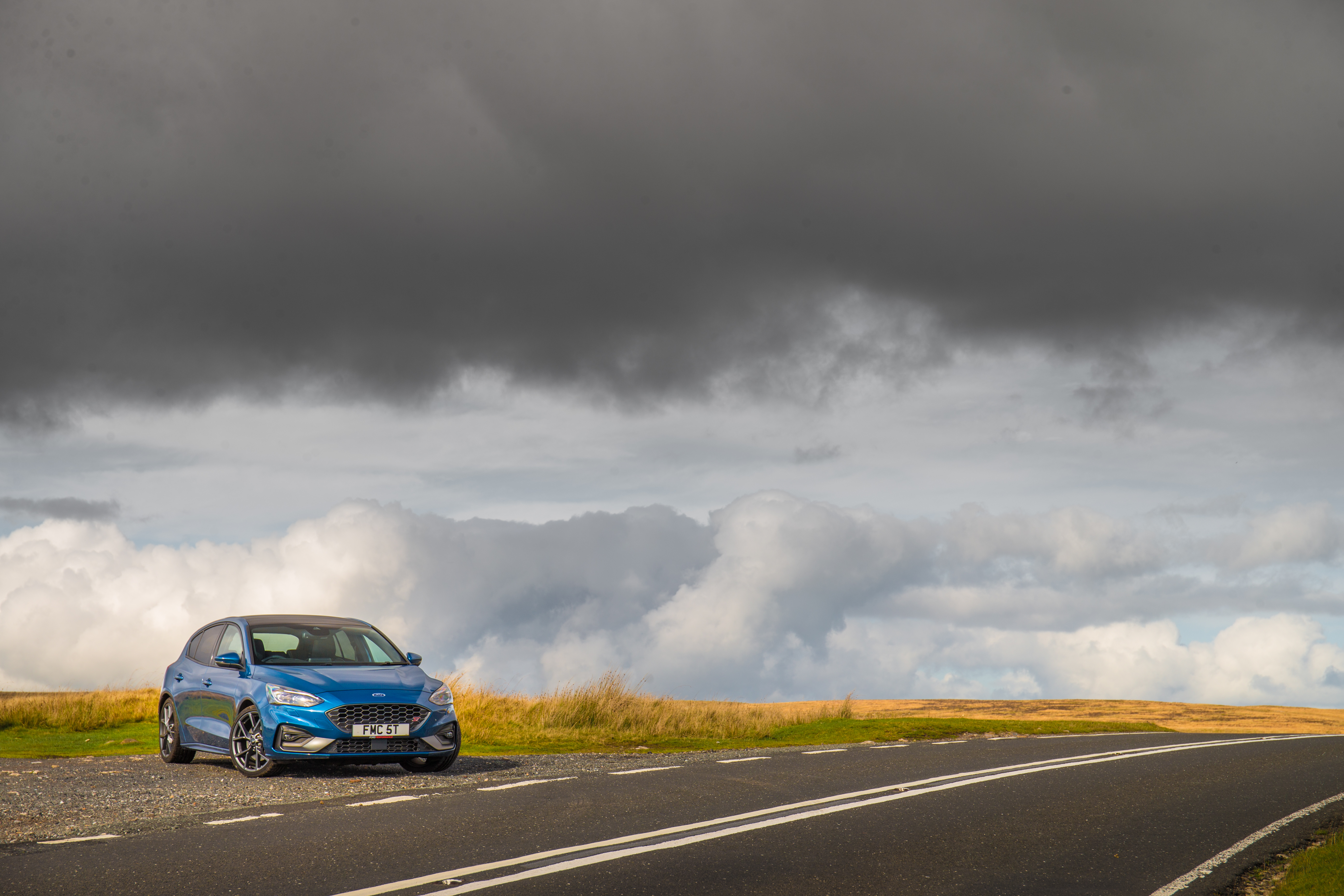The Focus ST is well suited to UK b-roads