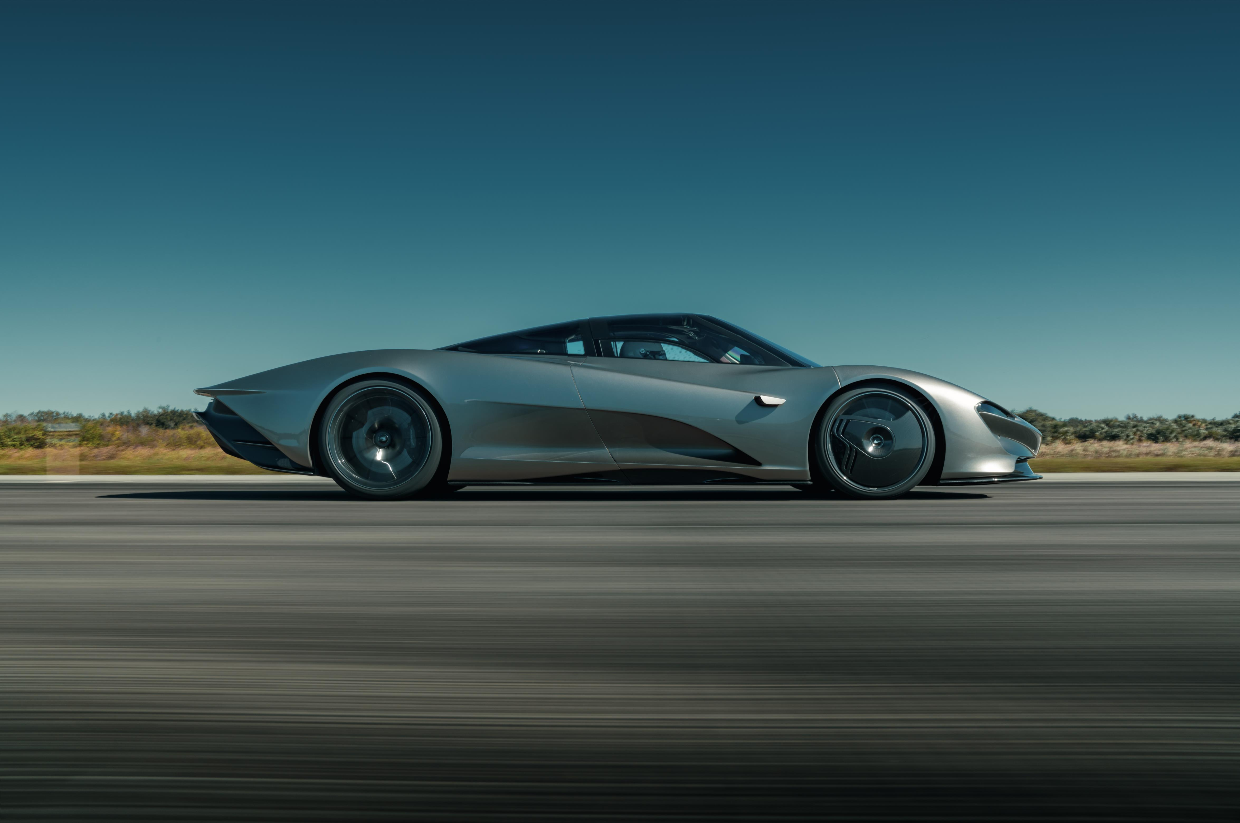 The Speedtail has hit a top speed of 250mph