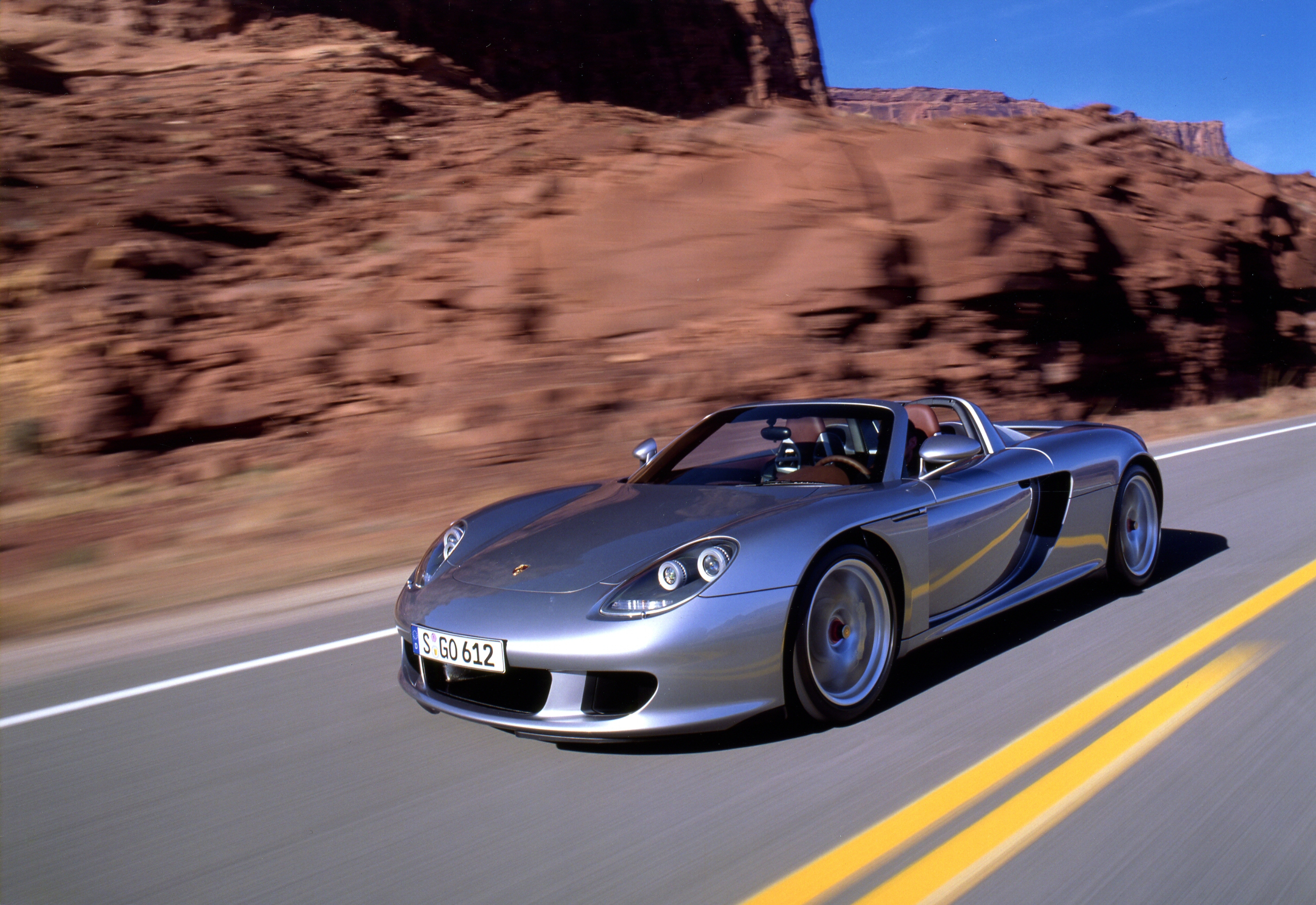 The Carrera GT was one of Porsche's most high-tech cars at the time