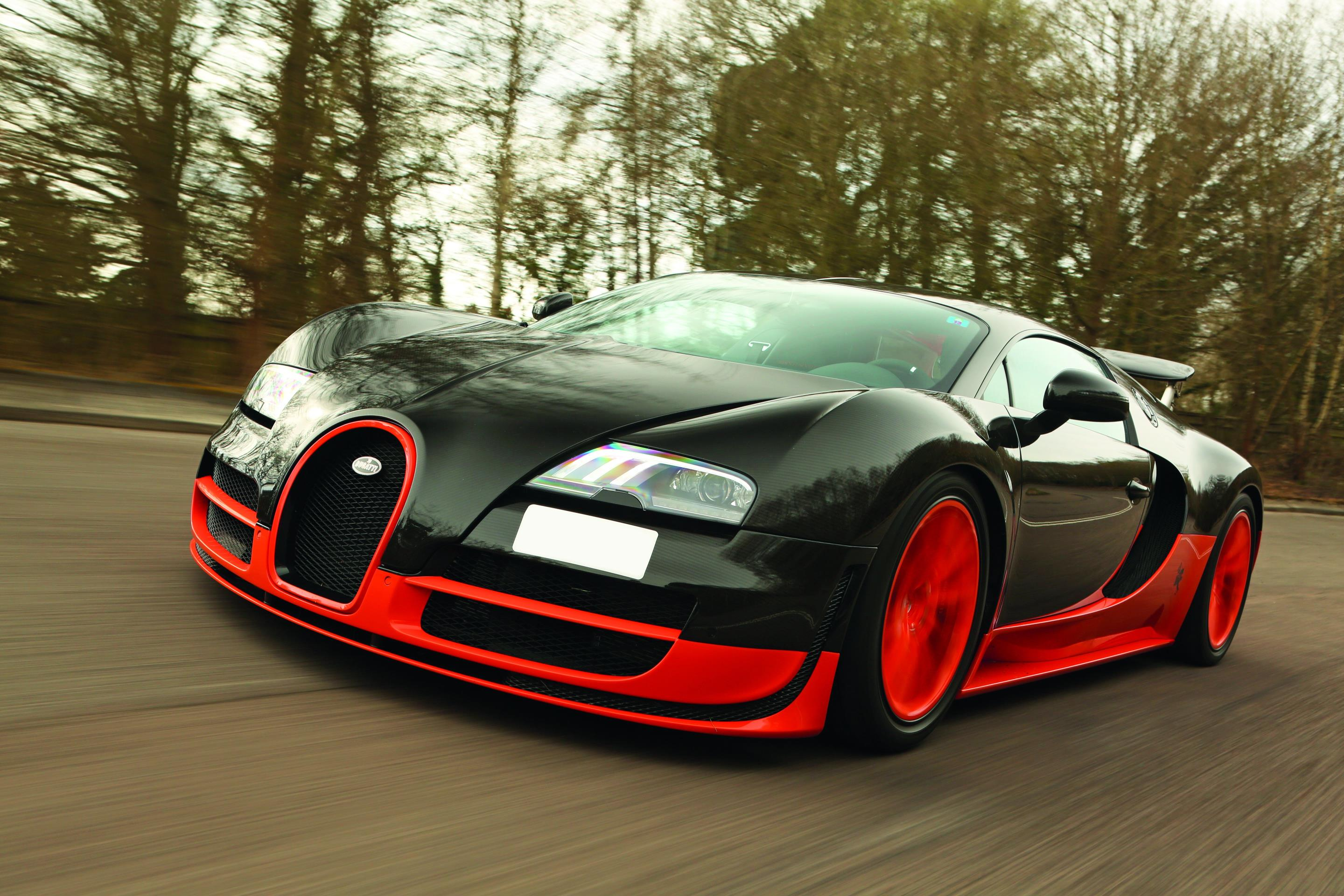 The Veyron remains one of the fastest cars in the world