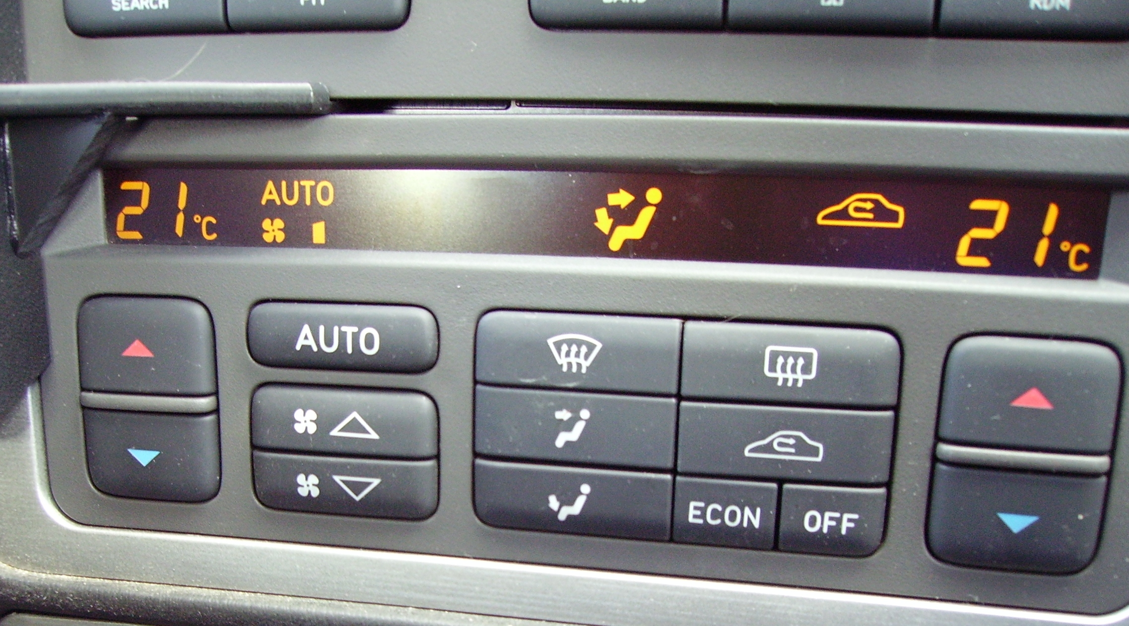 Climate control is a feature on high-end cars