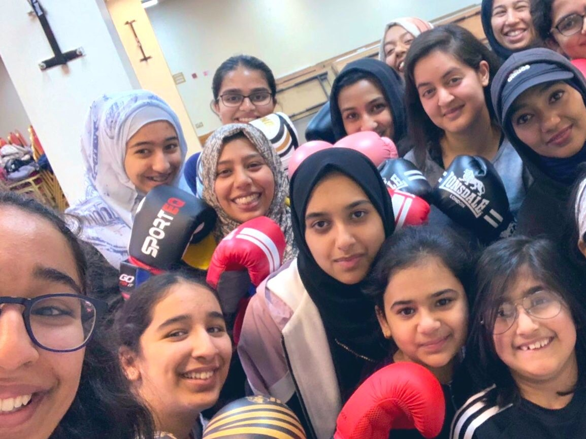 Girls are encouraged to participate in a number of sports, including boxing, by the MSA