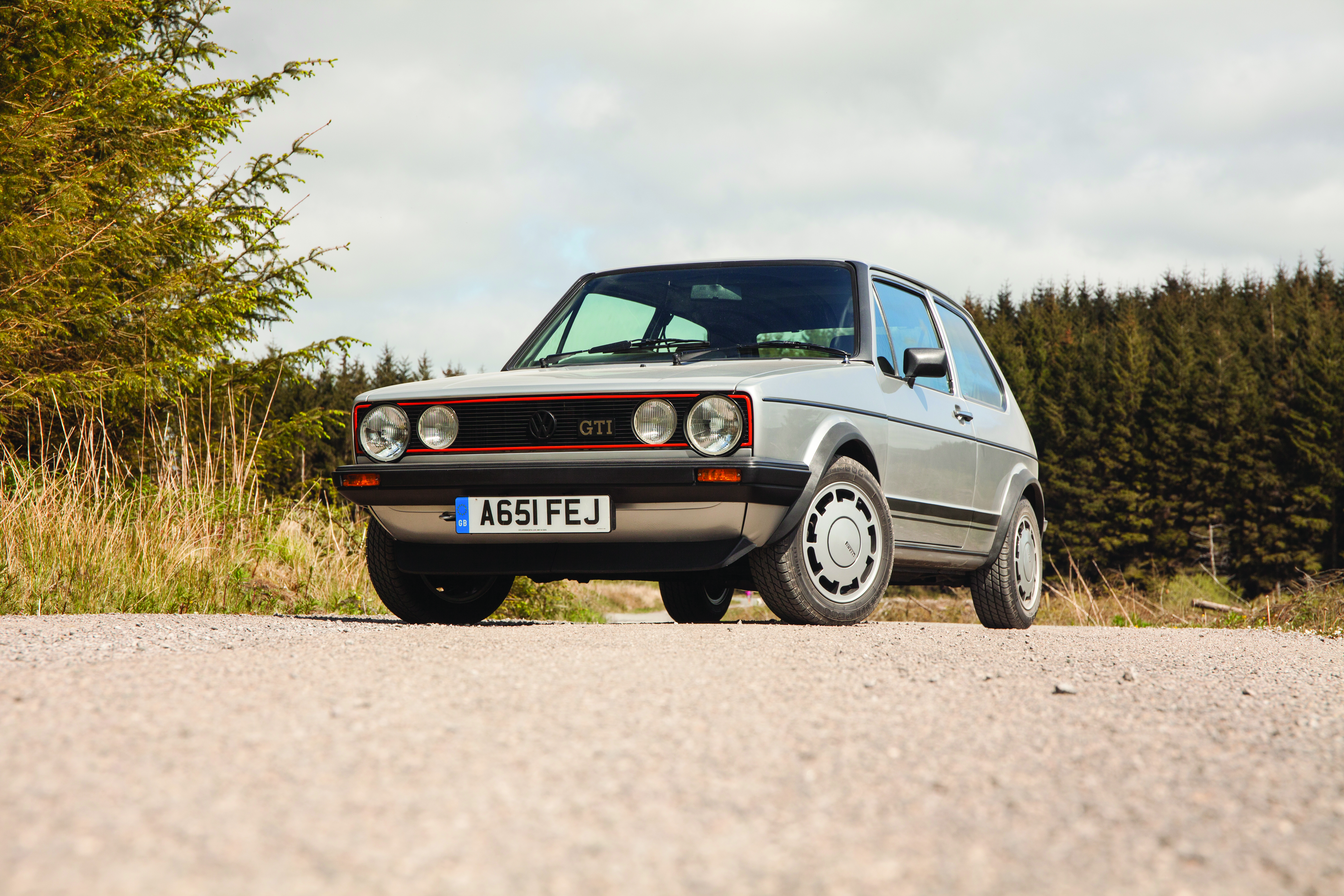The MK1 GTI is easy to recognise