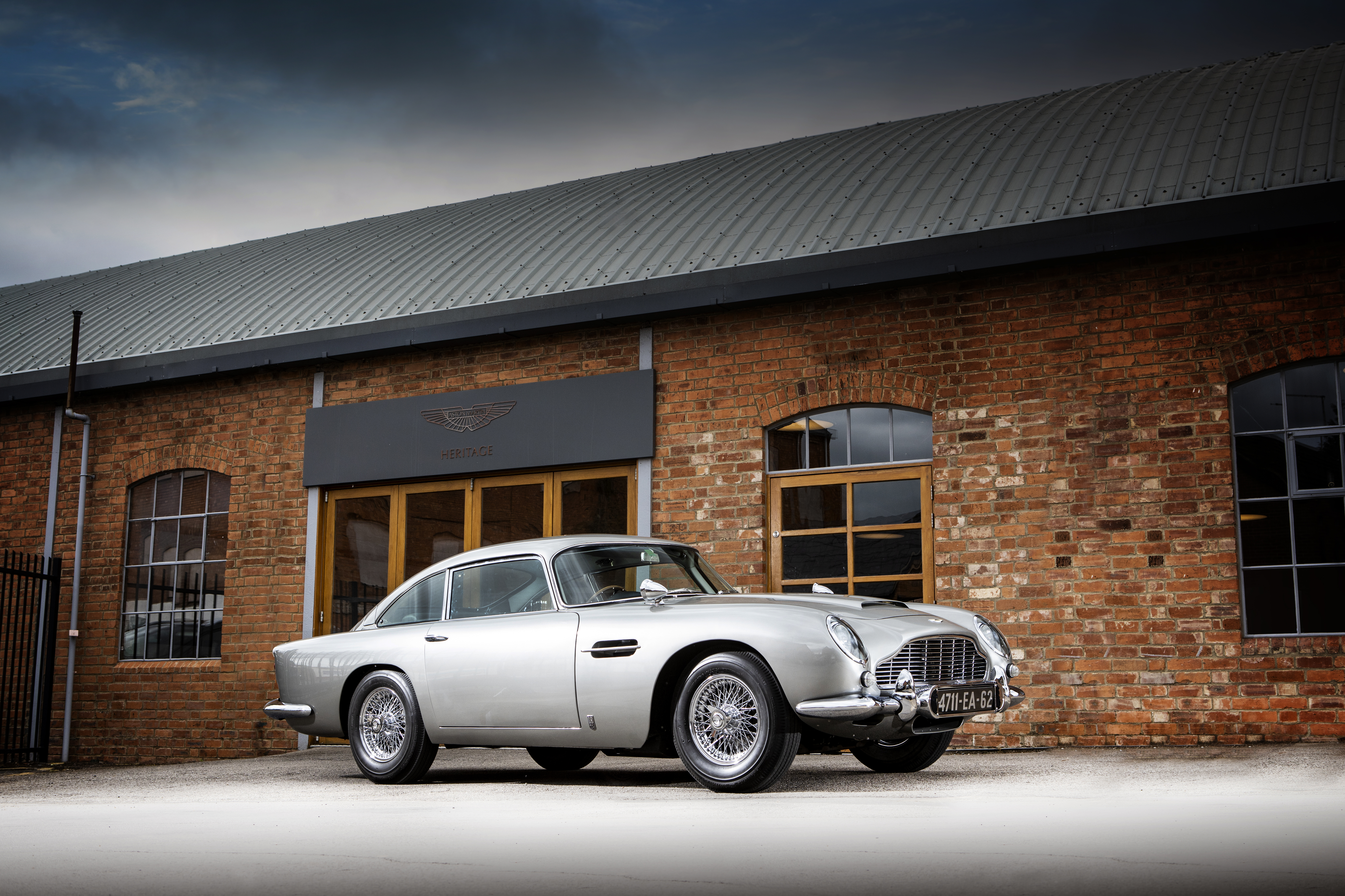 The DB5 is one of the most iconic Aston Martins of all time