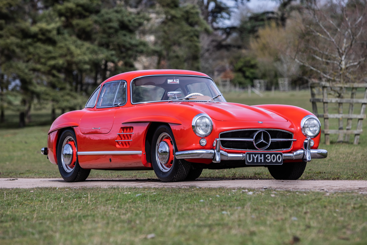 The 300SL was the ultimate long-distance sports car