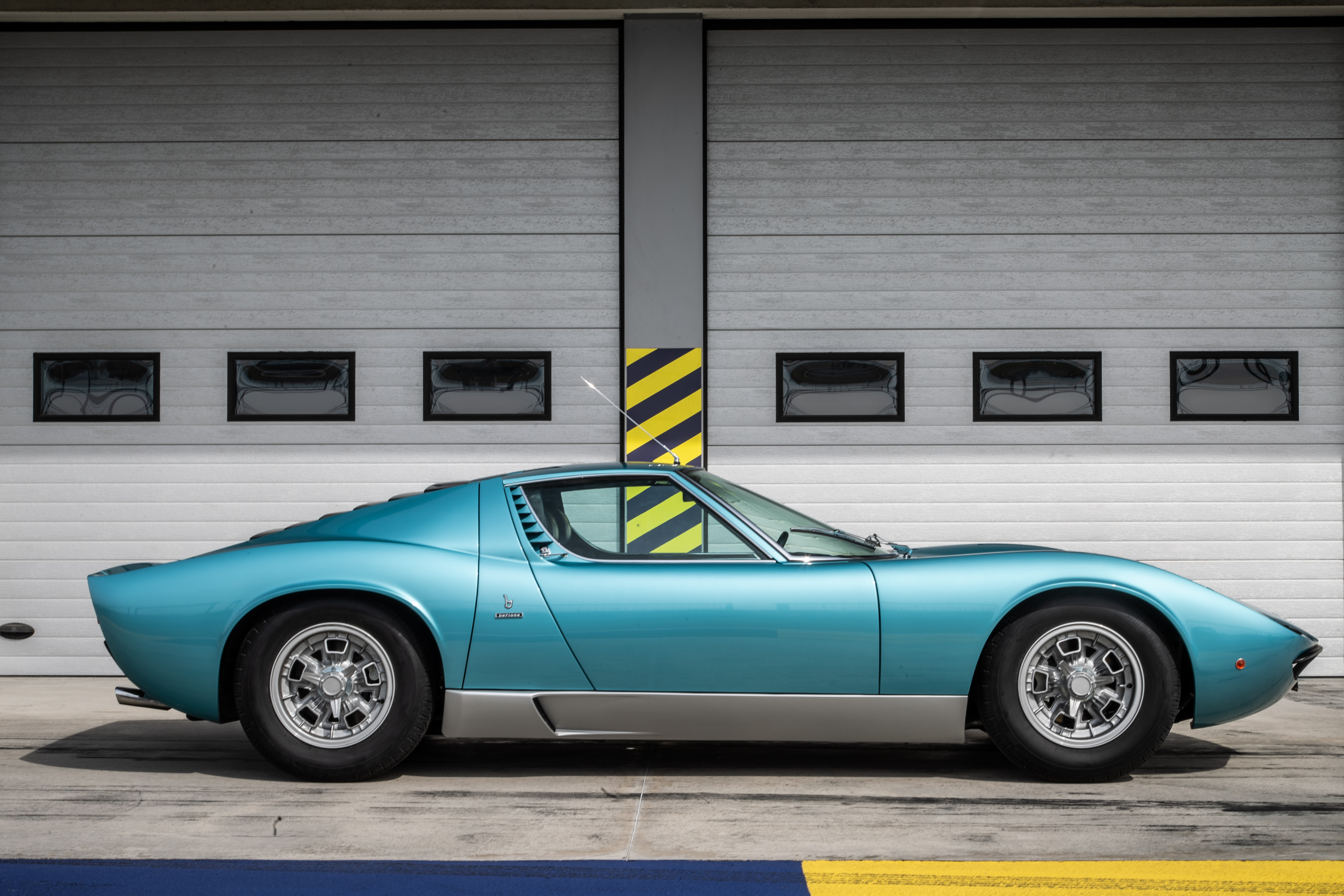 The Miura is arguably one of the prettiest cars of all time