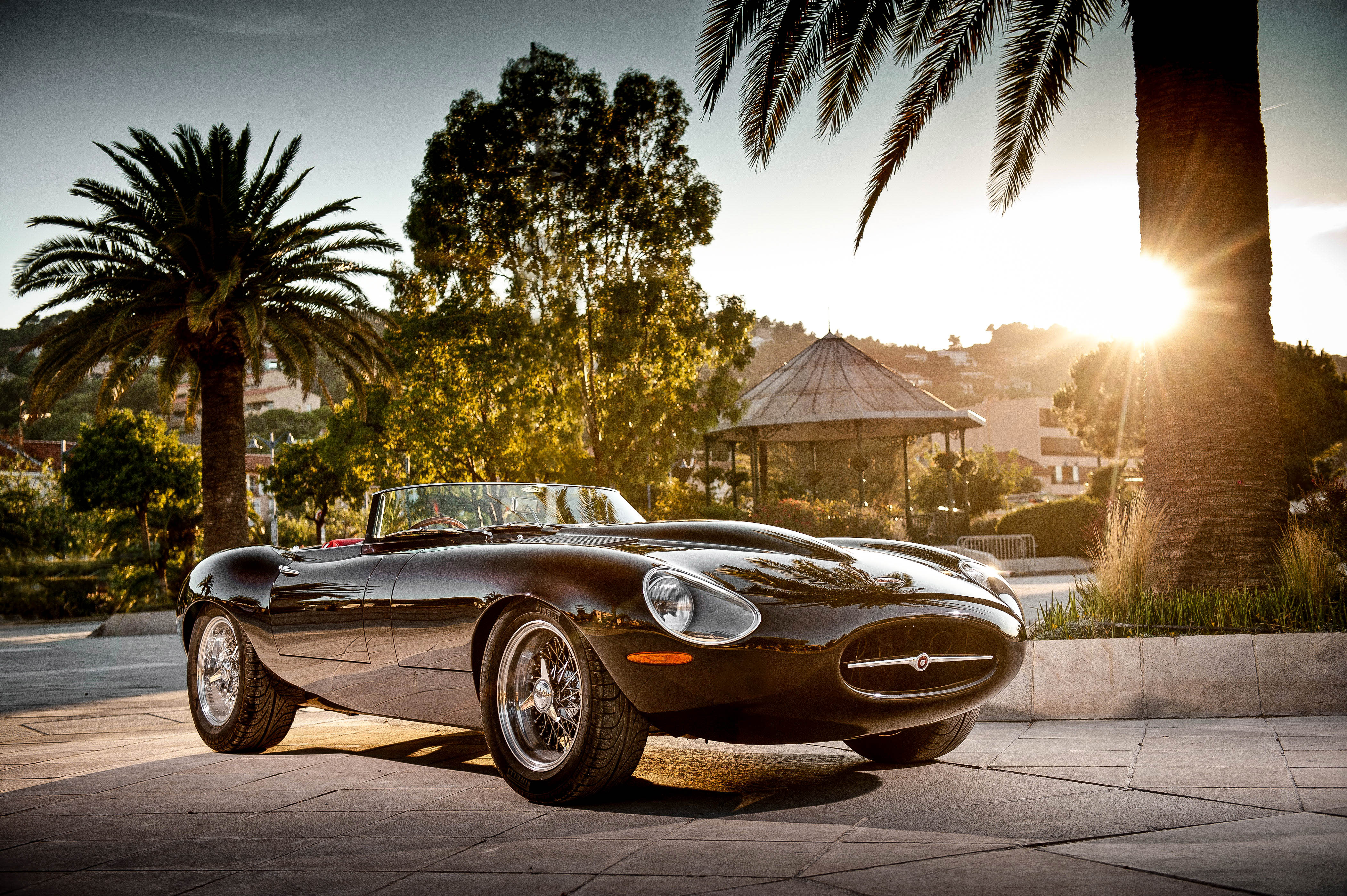 The Eagle E-Type adds modern touches to a classic