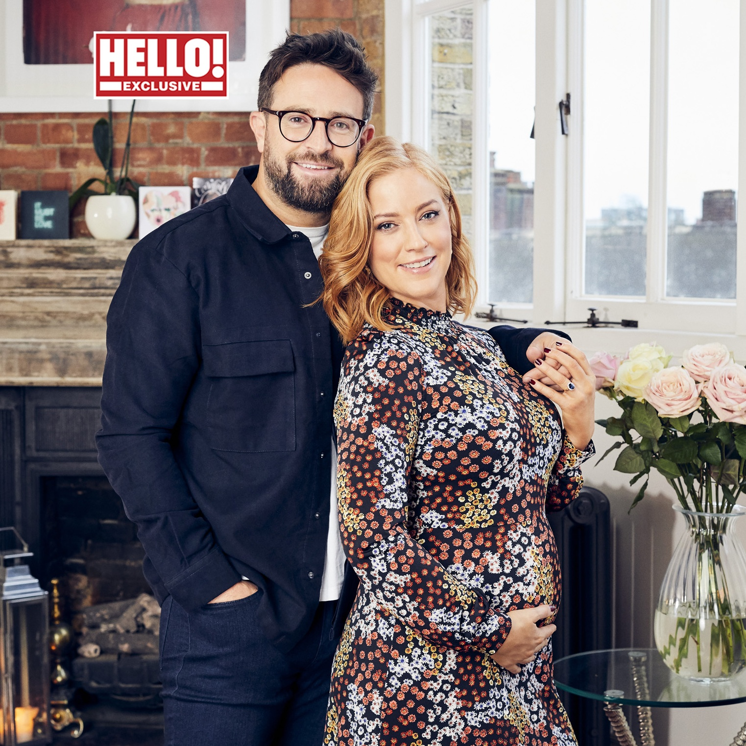 Sarah-Jane Mee and Ben Richardson