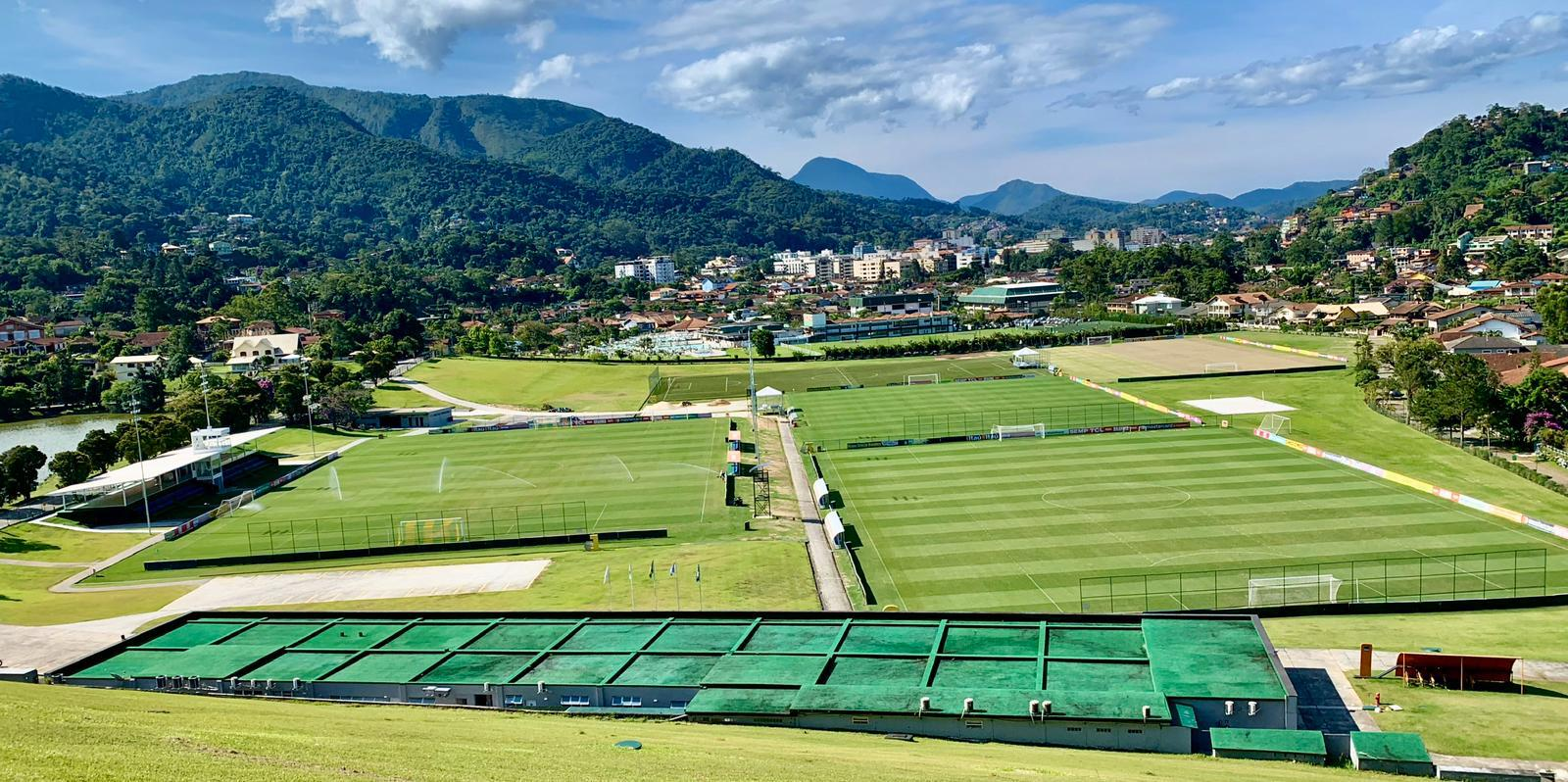 Granja Comary football complex in Brazil