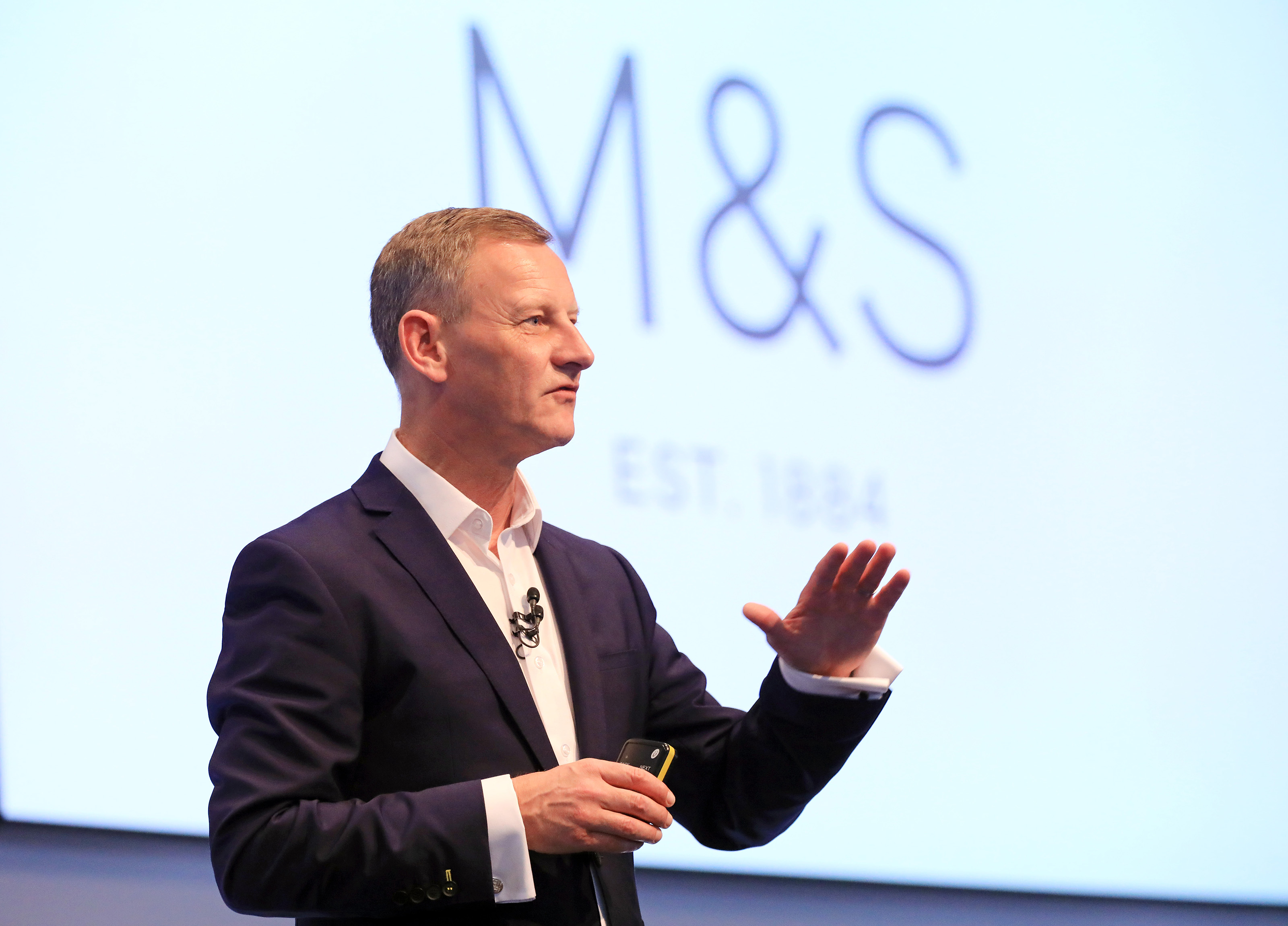 M&S chief executive Steve Rowe (M&S/PA)