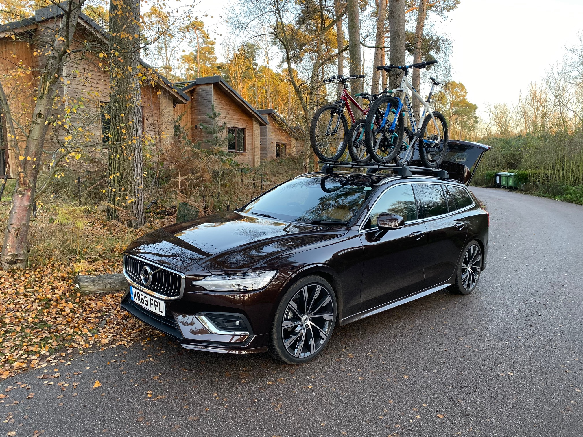 The V60's bike rack proved immensely popular