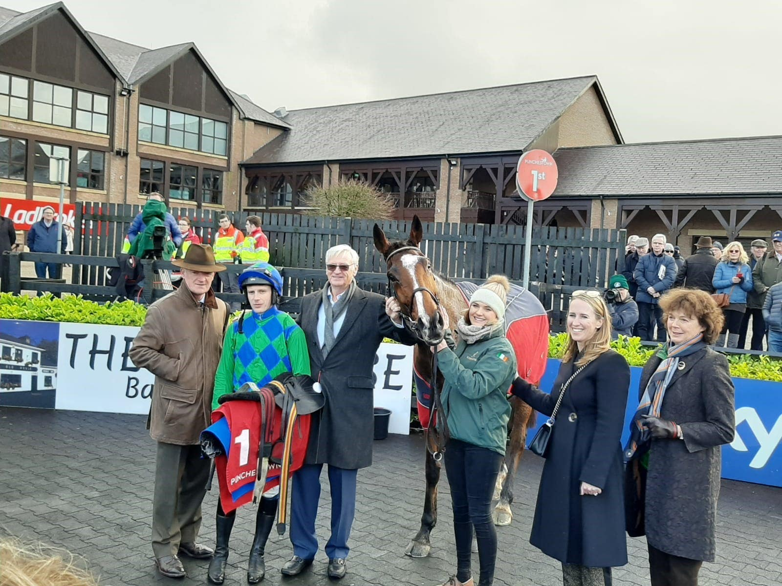 Carefully Selected with connections after winning at Punchestown (Alan Magee/PA)
