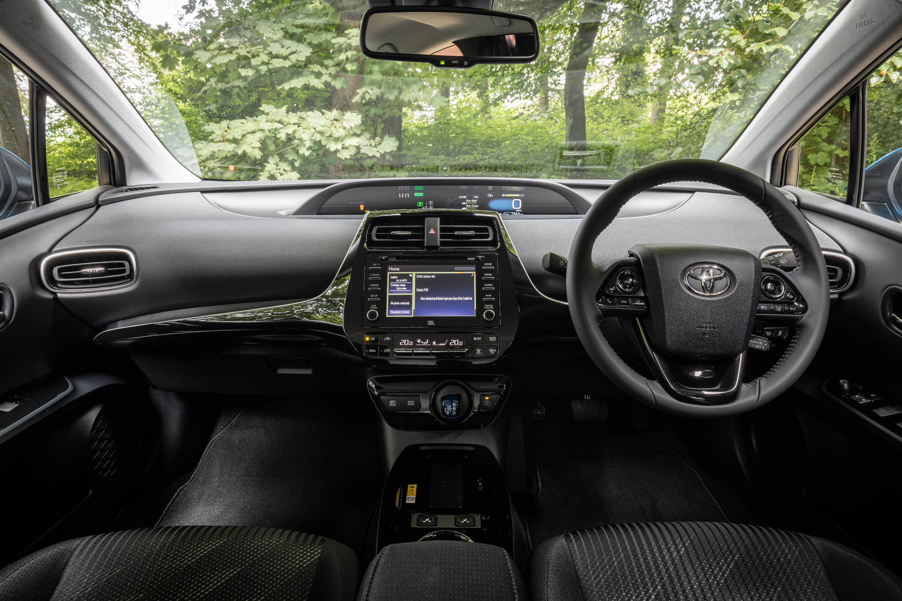 The interior of the car has been given a crucial update