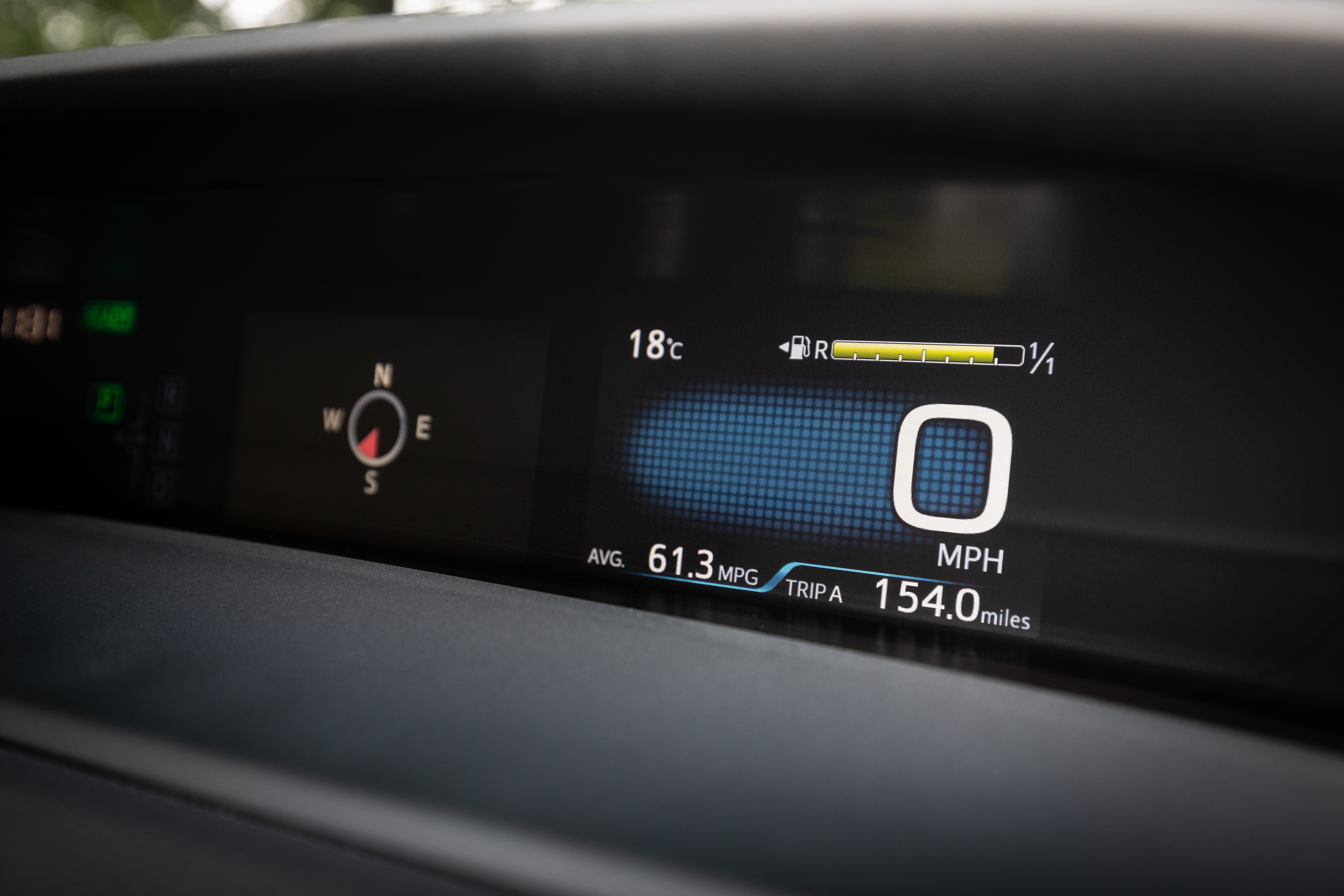Digital displays are used throughout the cabin