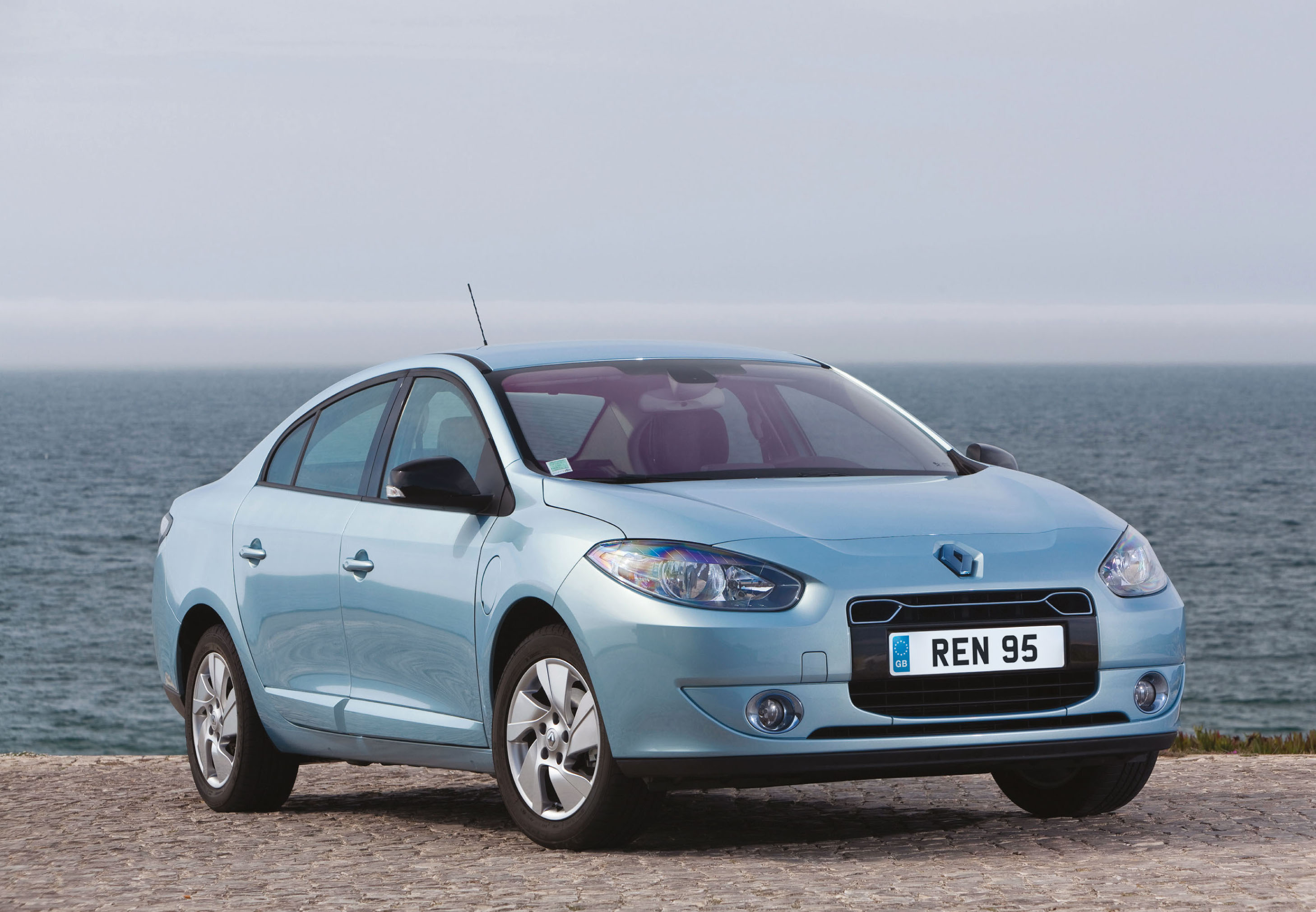The Fluence afforded drivers a little more cabin space with their electric car