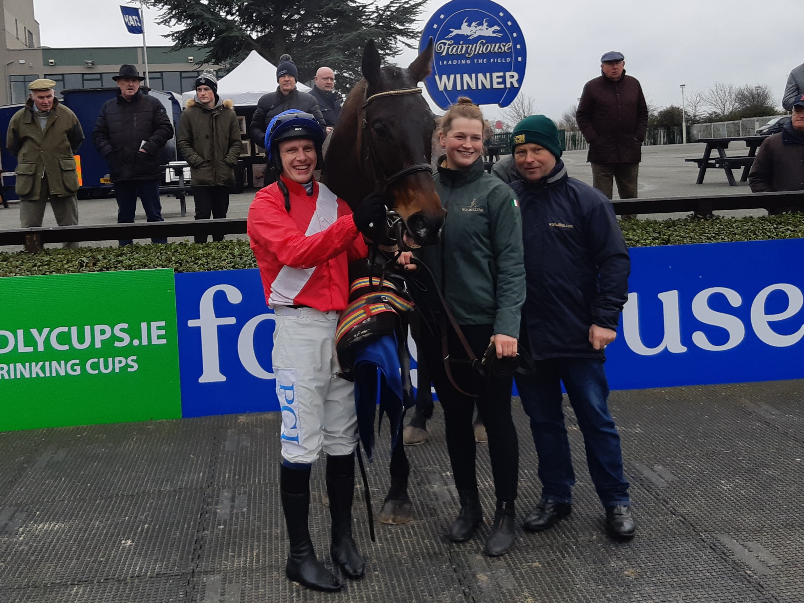 Allaho after winning at Fairyhouse last year (Gary Carson/PA)
