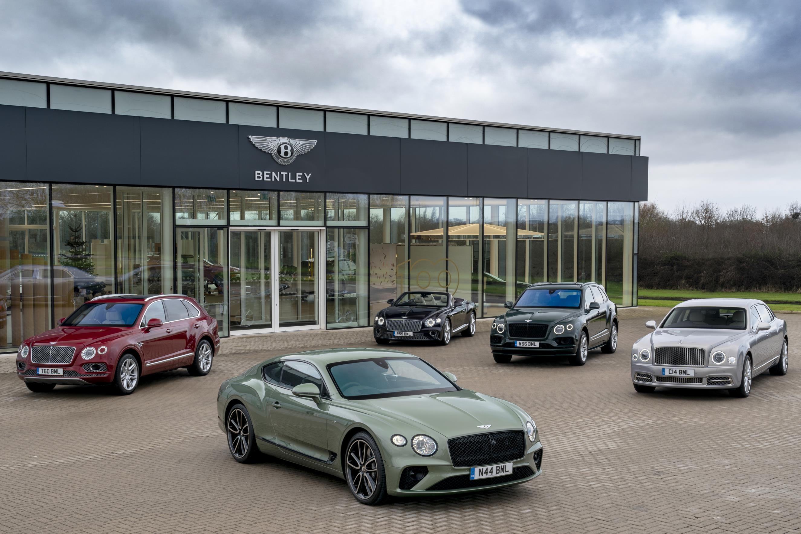 Bentley range shot